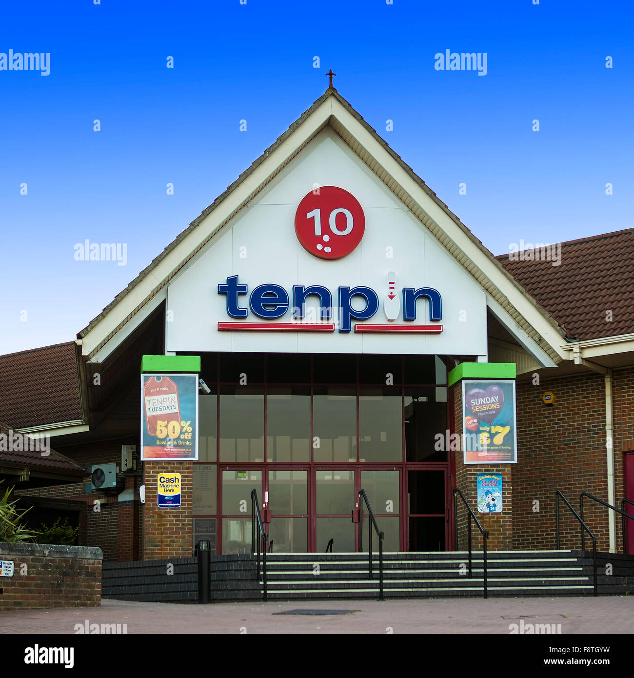 Tenpin Bowling, Shaw Ridge Leisure Park, West Swindon, Wiltshire - Stock Image