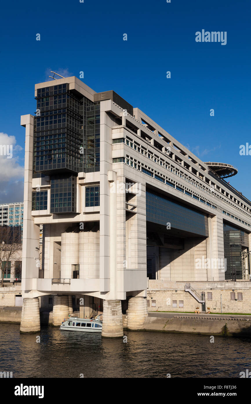 Ministry of the Economy and Finances, Bercy, Paris, Ile-de-france, France - Stock Image
