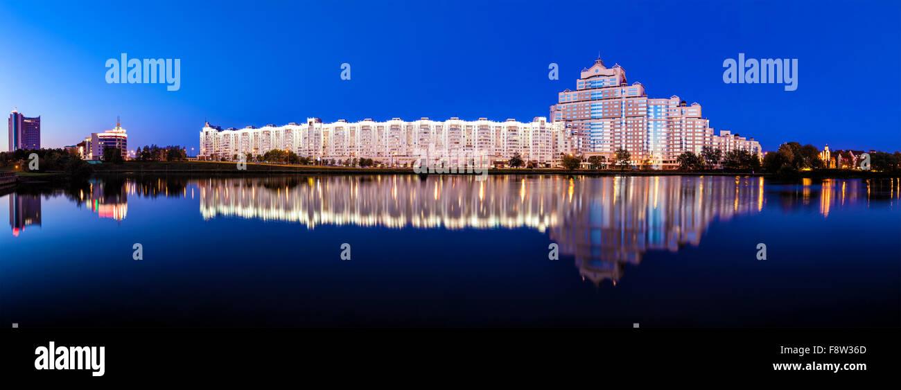MInsk skyline view, Belarus Stock Photo