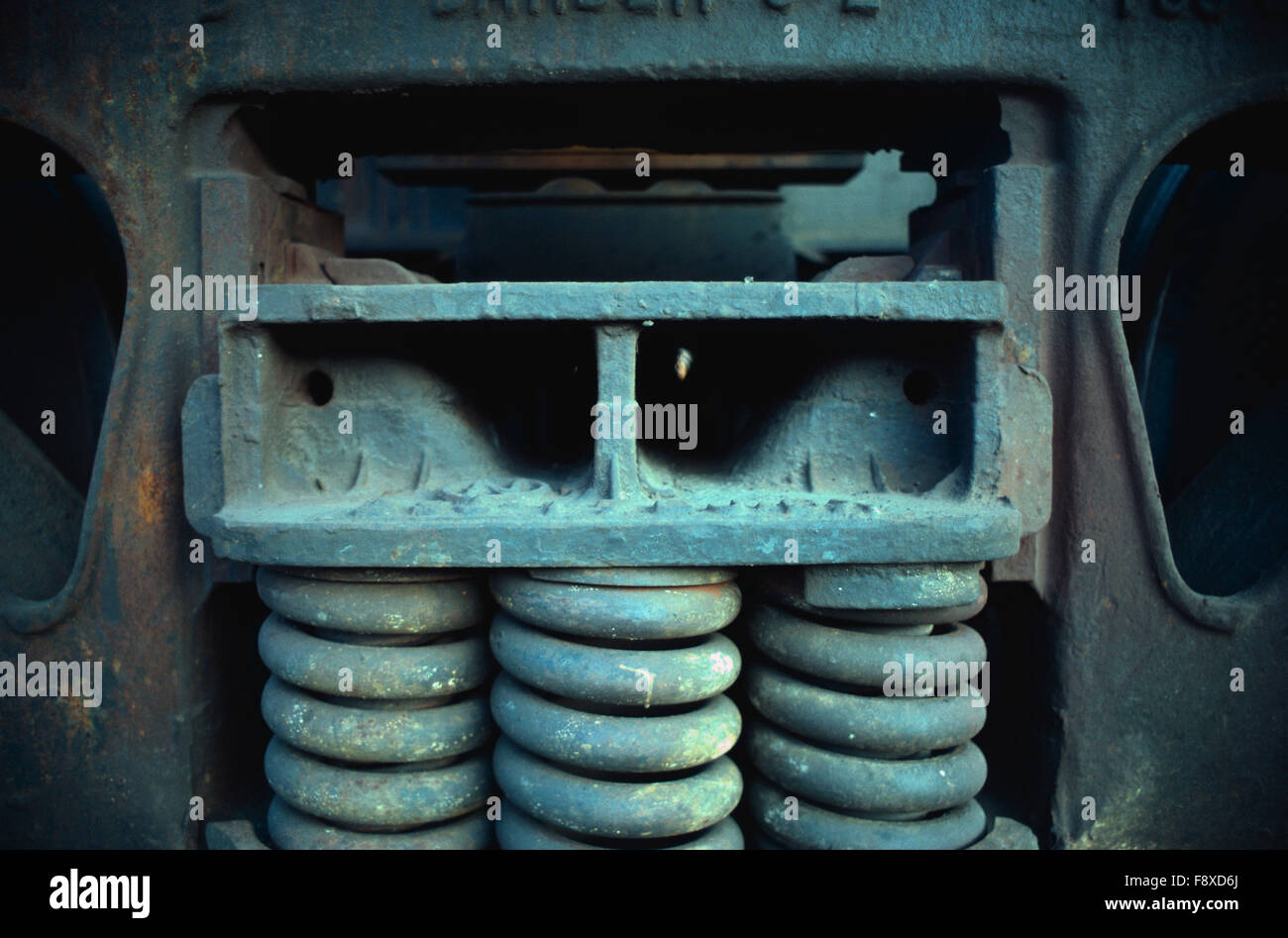 industrial coil - Stock Image