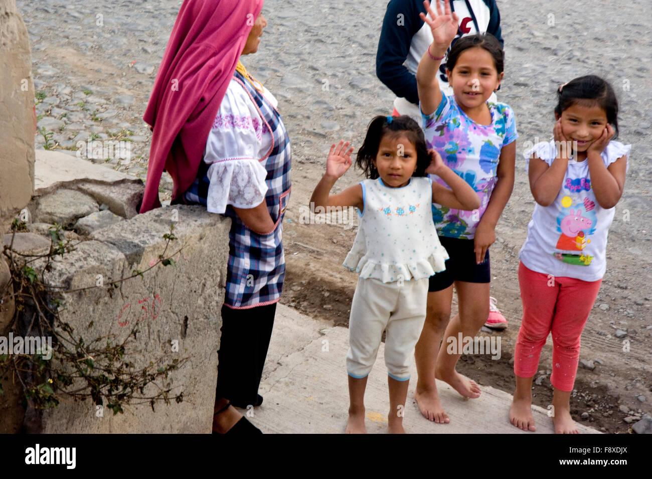 Ecuador young girls