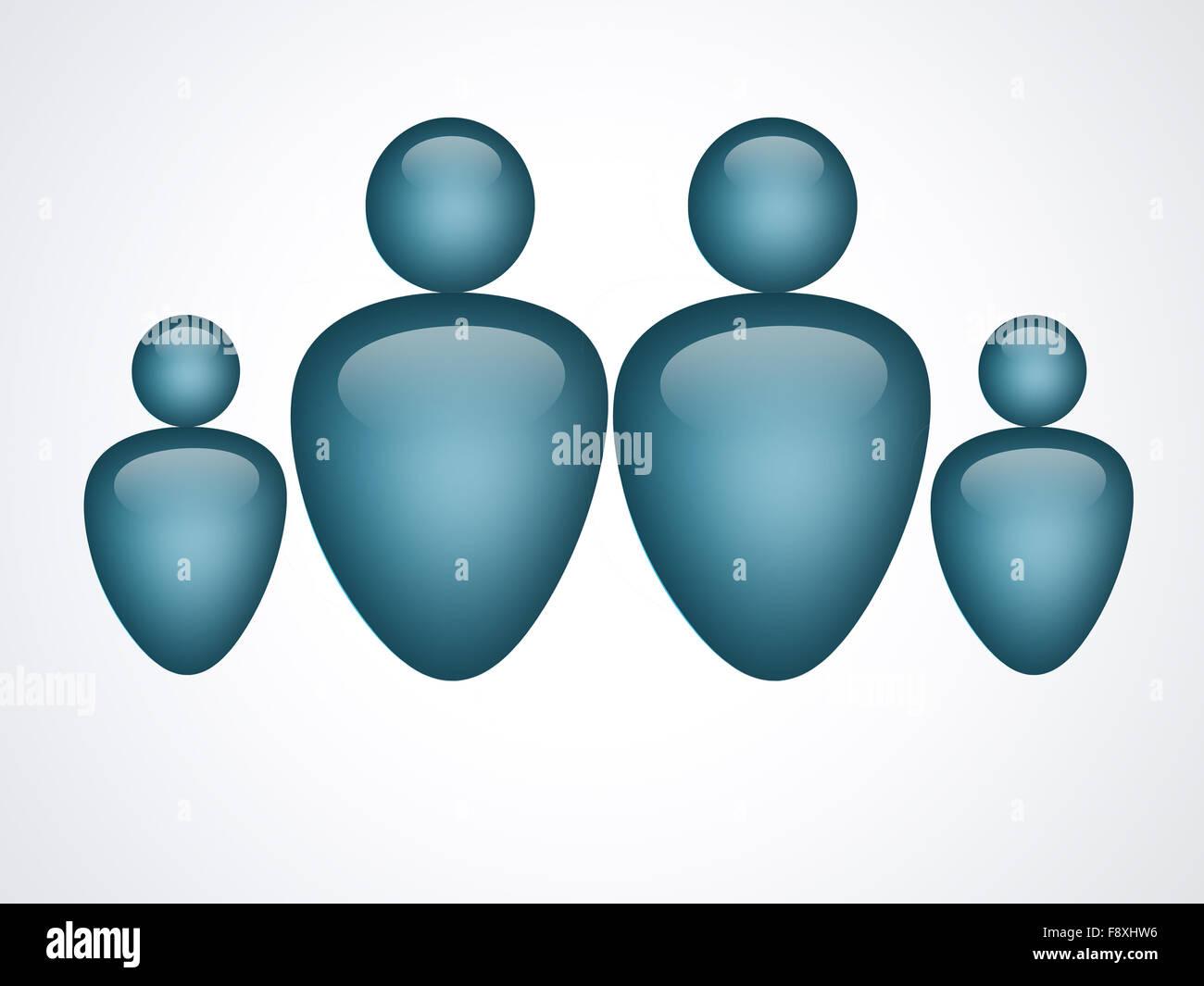 family - Stock Image