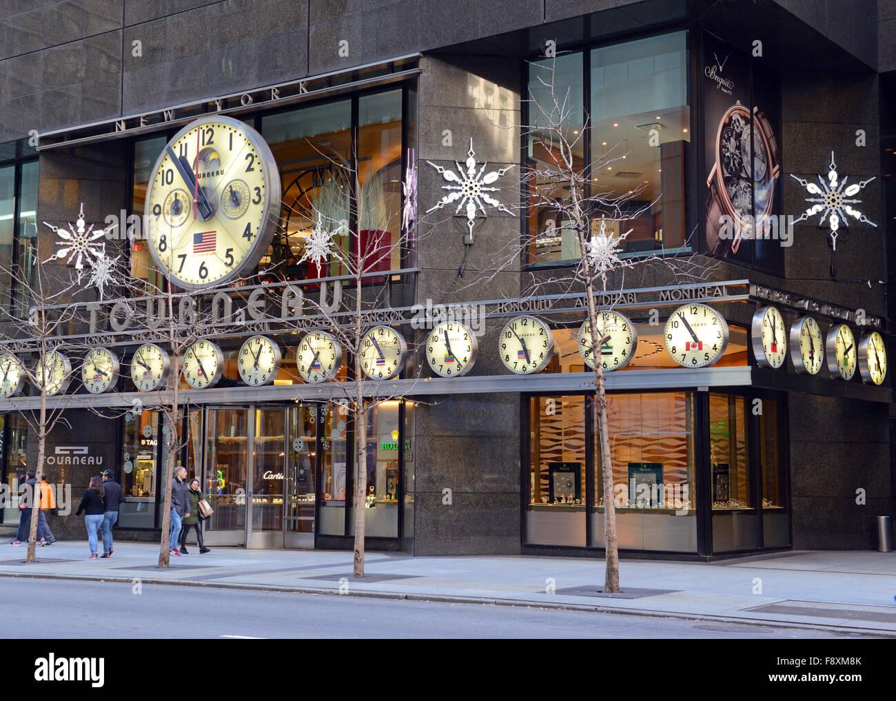 Tourneau Watches Store Stock Photos & Tourneau Watches Store