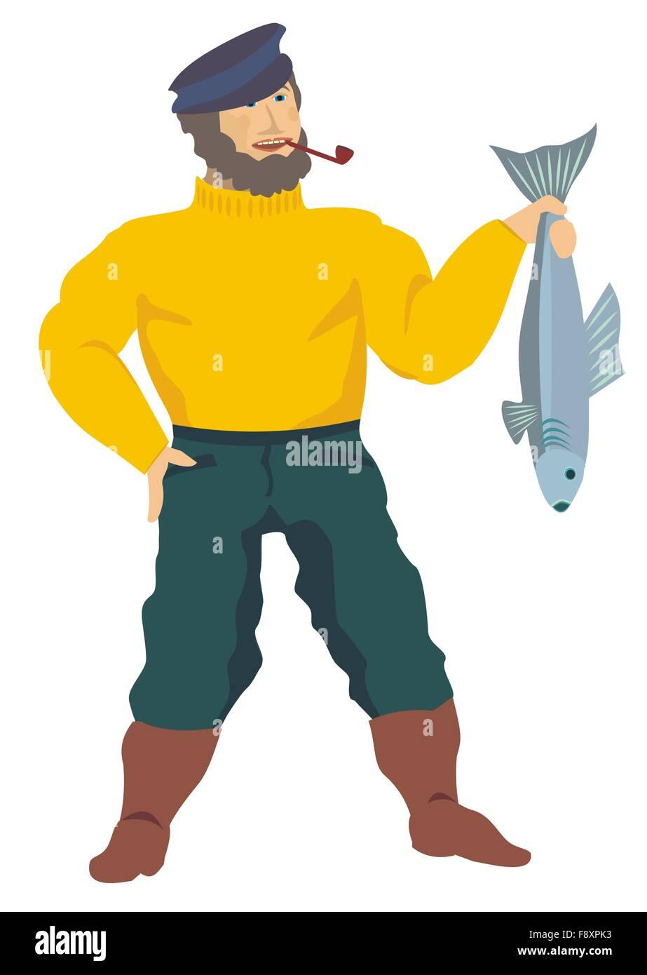 Fisherman - Stock Image