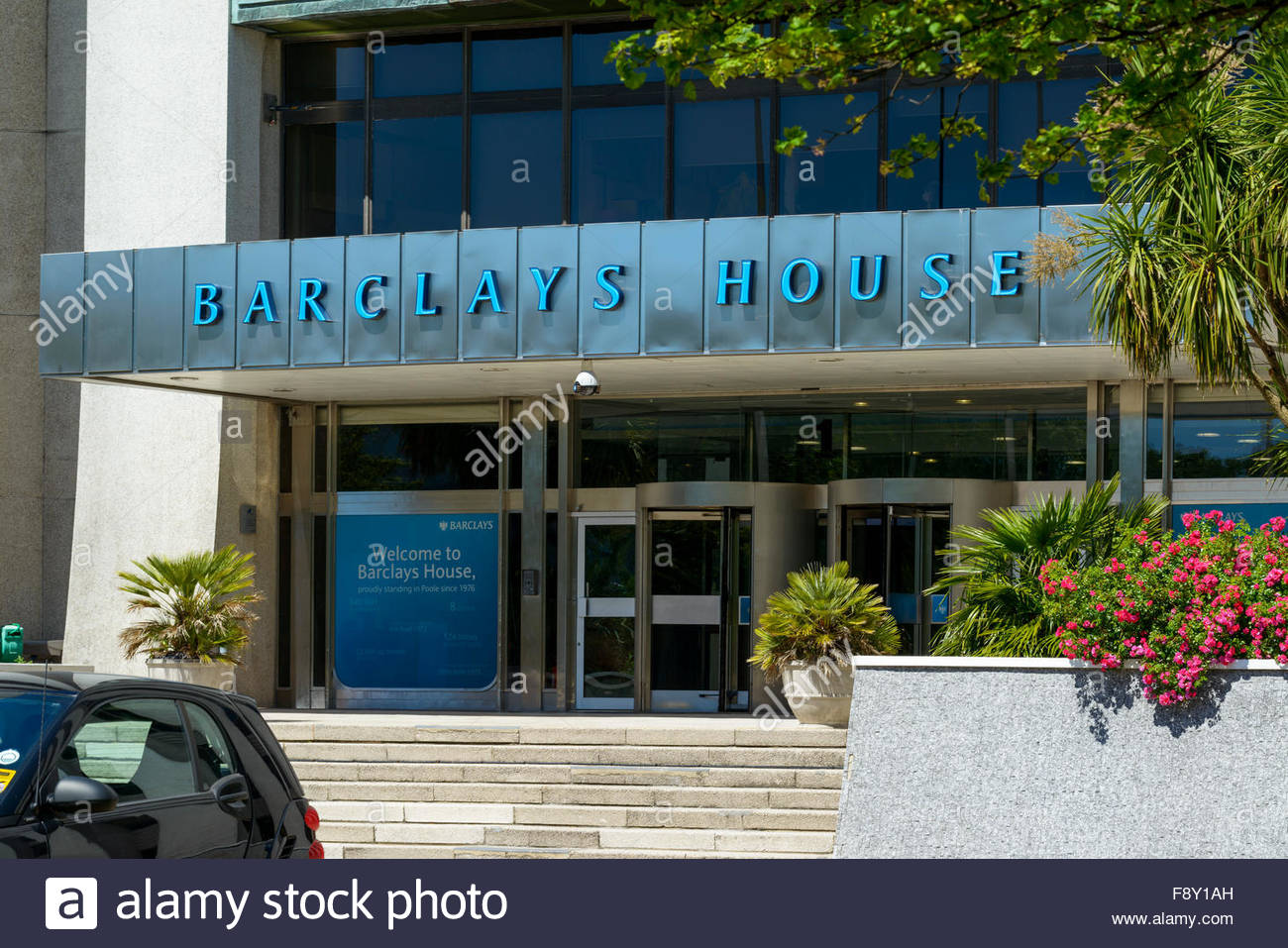 Barclays House, banks offices, Poole, Dorset, England, UK - Stock Image