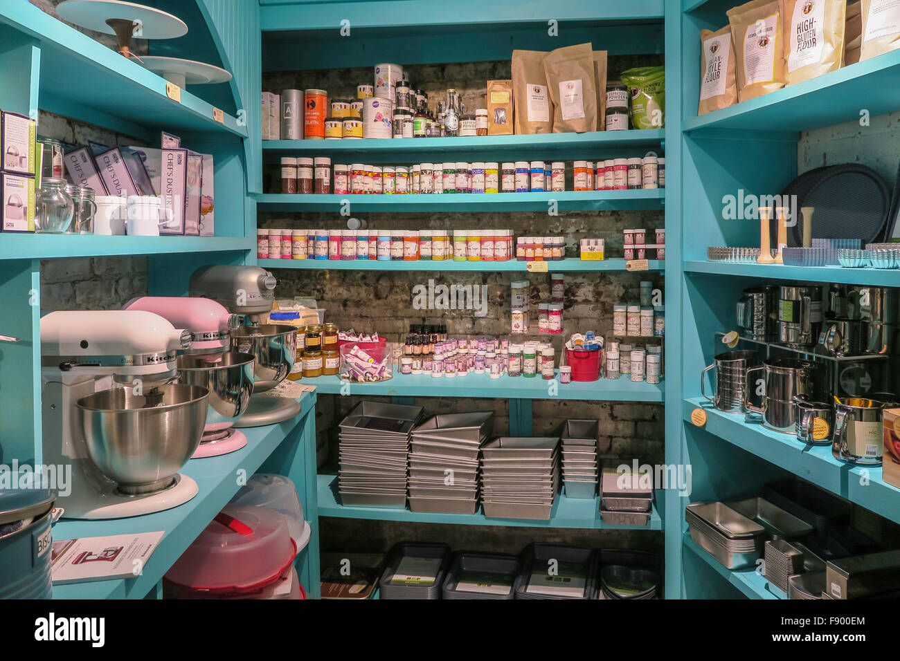 Charmant U0027Whisku0027 Kitchen And Table Store Interior, NYC   Stock Image U0027