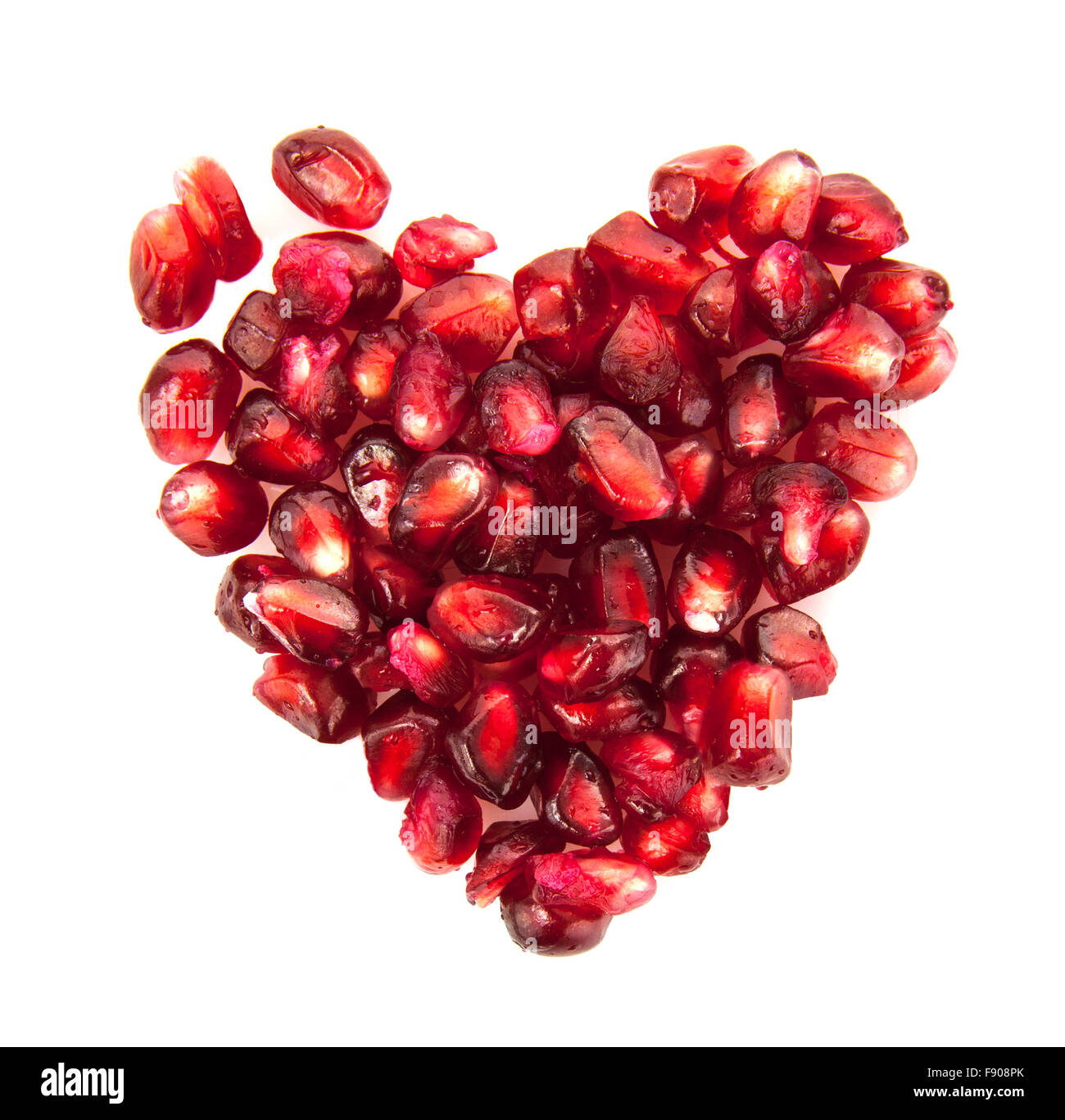 Symbol Love Pomegranate Fruit Cut Out Stock Images Pictures Alamy
