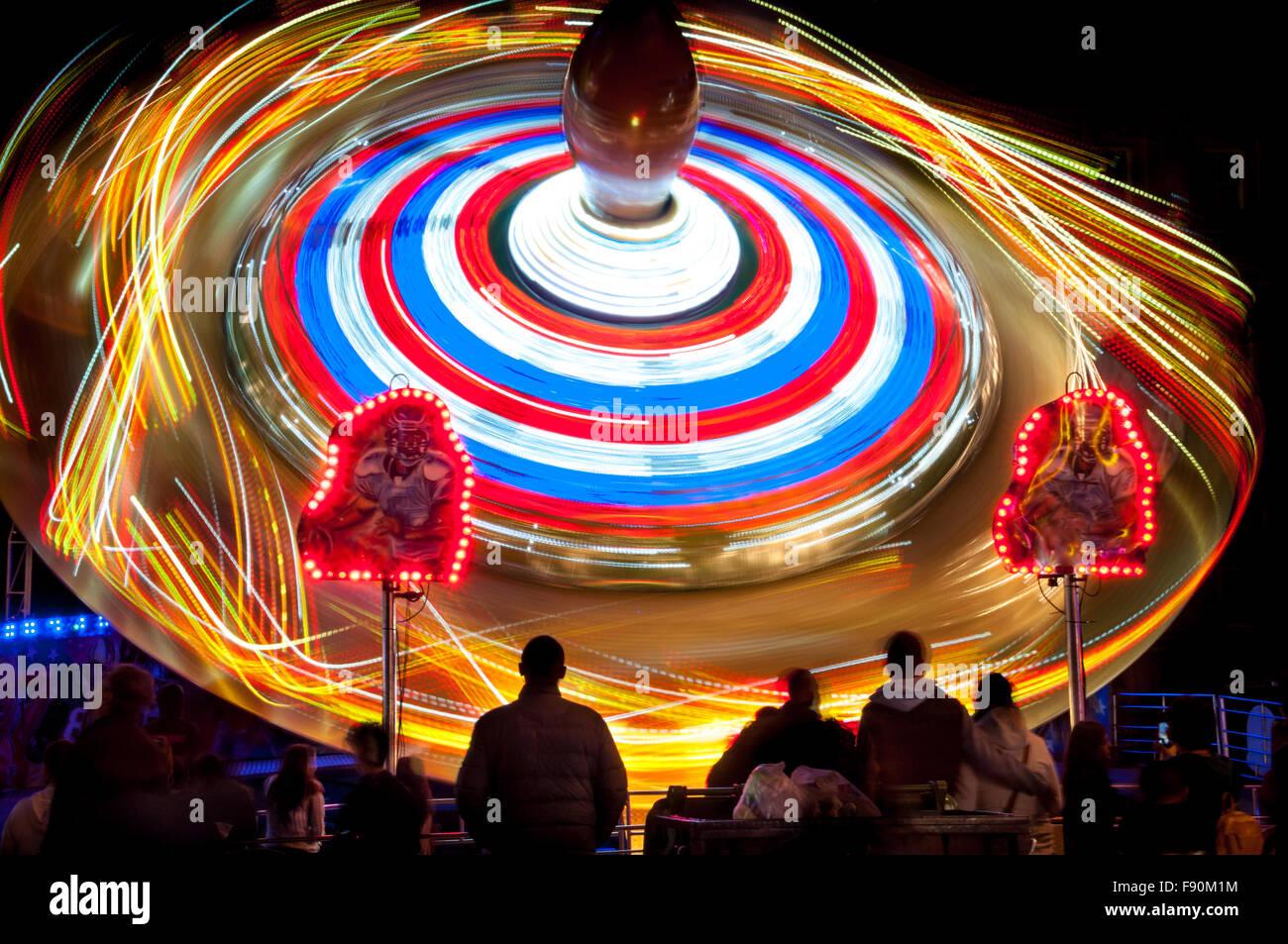 The St Giles Fair, Oxford, United Kingdom Stock Photo