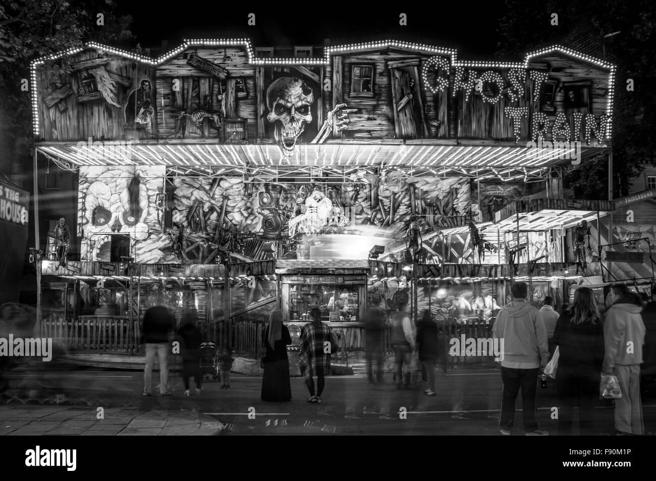 The St Giles Fair, Oxford, United Kingdom - Stock Image