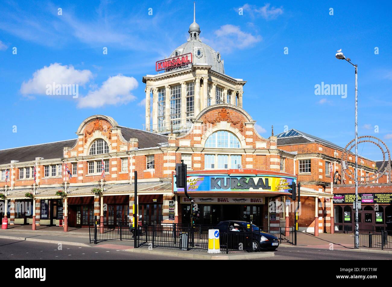 The Kursaal amusement park, Marine Parade, Southend-On-Sea, Essex, England, United Kingdom - Stock Image