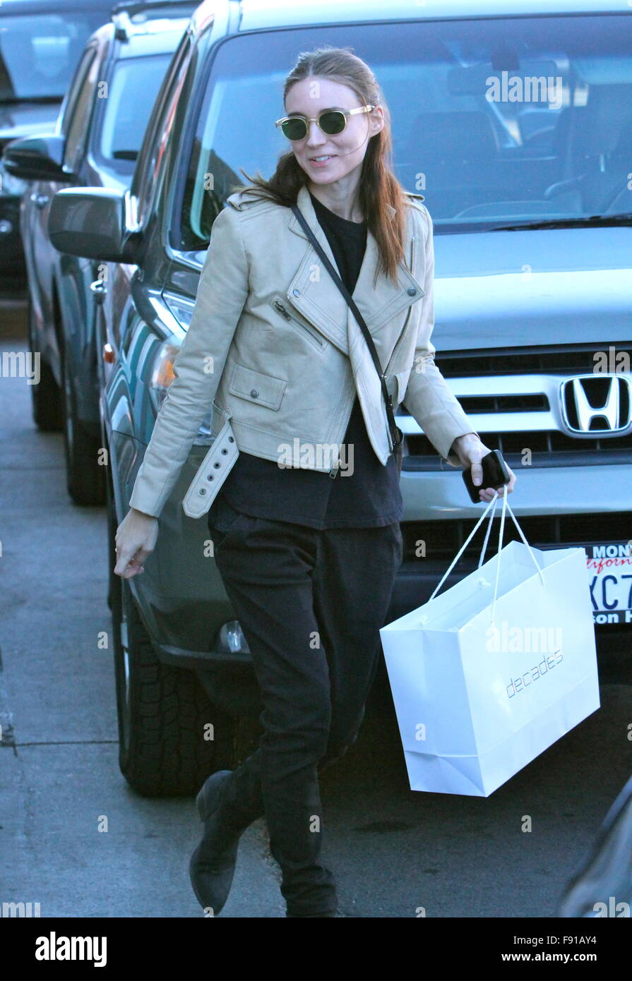 West Hollywood, California, USA. 12th Dec, 2015. Rooney Mara , West Hollywood, CA, USA Credit:  The Media Circuit/Alamy Stock Photo