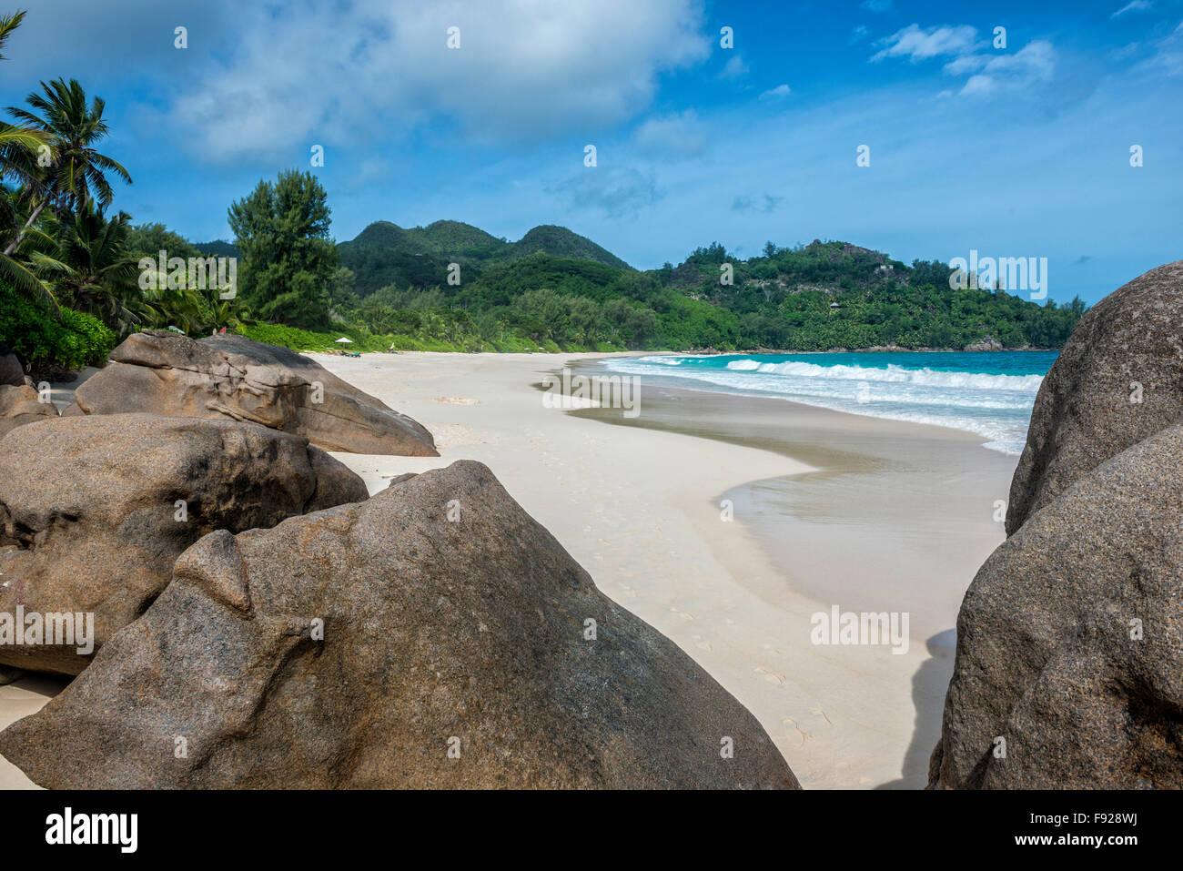 Anse Intendance, Mahe Island, The Seychelles - Stock Image