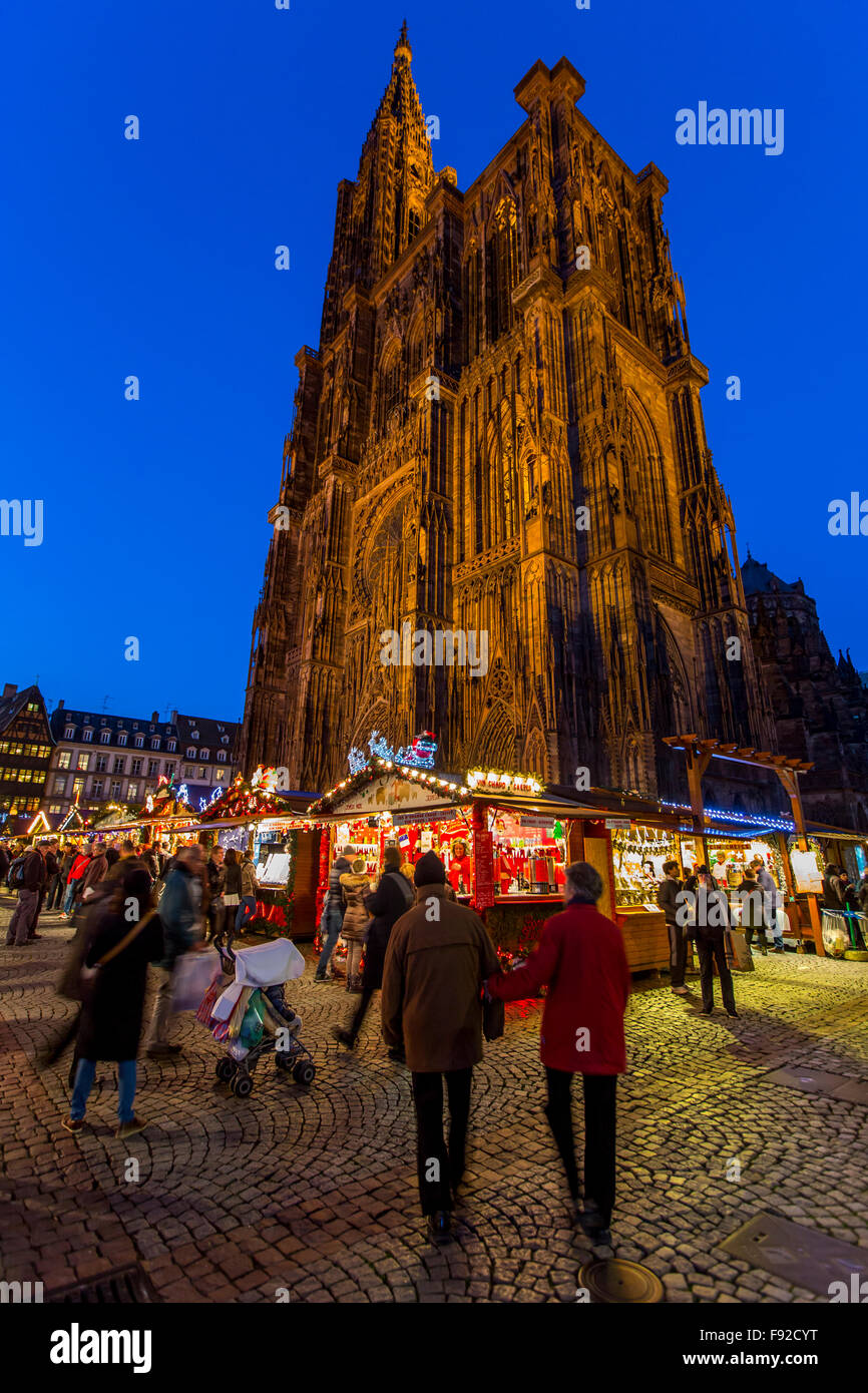 Strasbourg France Christmas Market Hours.Christmas Time In Strasbourg Alsace France Xmas