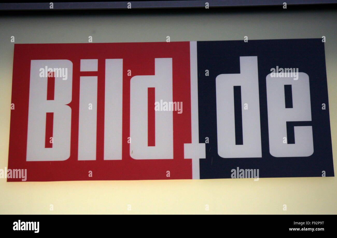 "Markenname: ""Bild.de"", Berlin. Stock Photo"