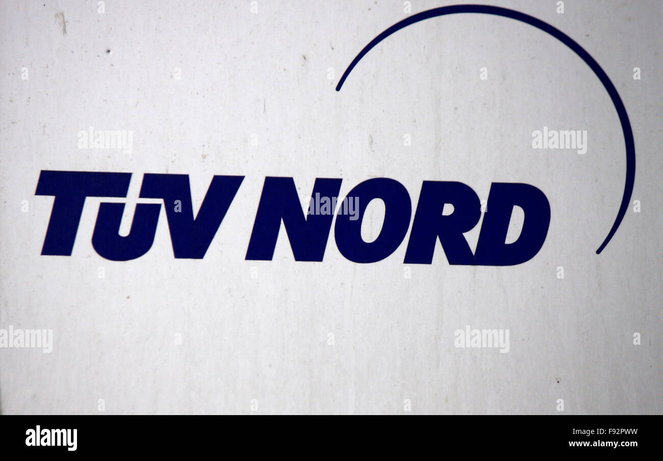 Markenname: 'TUEV Nord', Berlin. - Stock Image