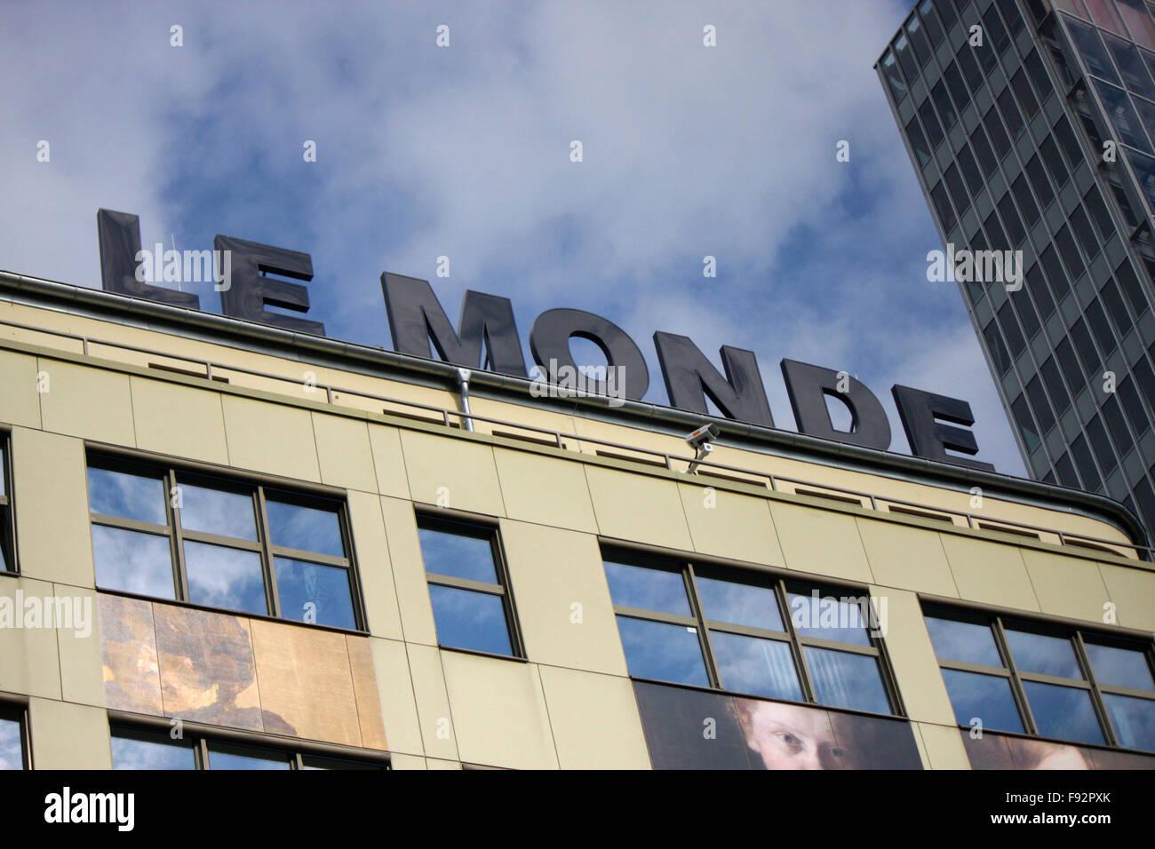 Markenname: 'Le Monde', Berlin. - Stock Image
