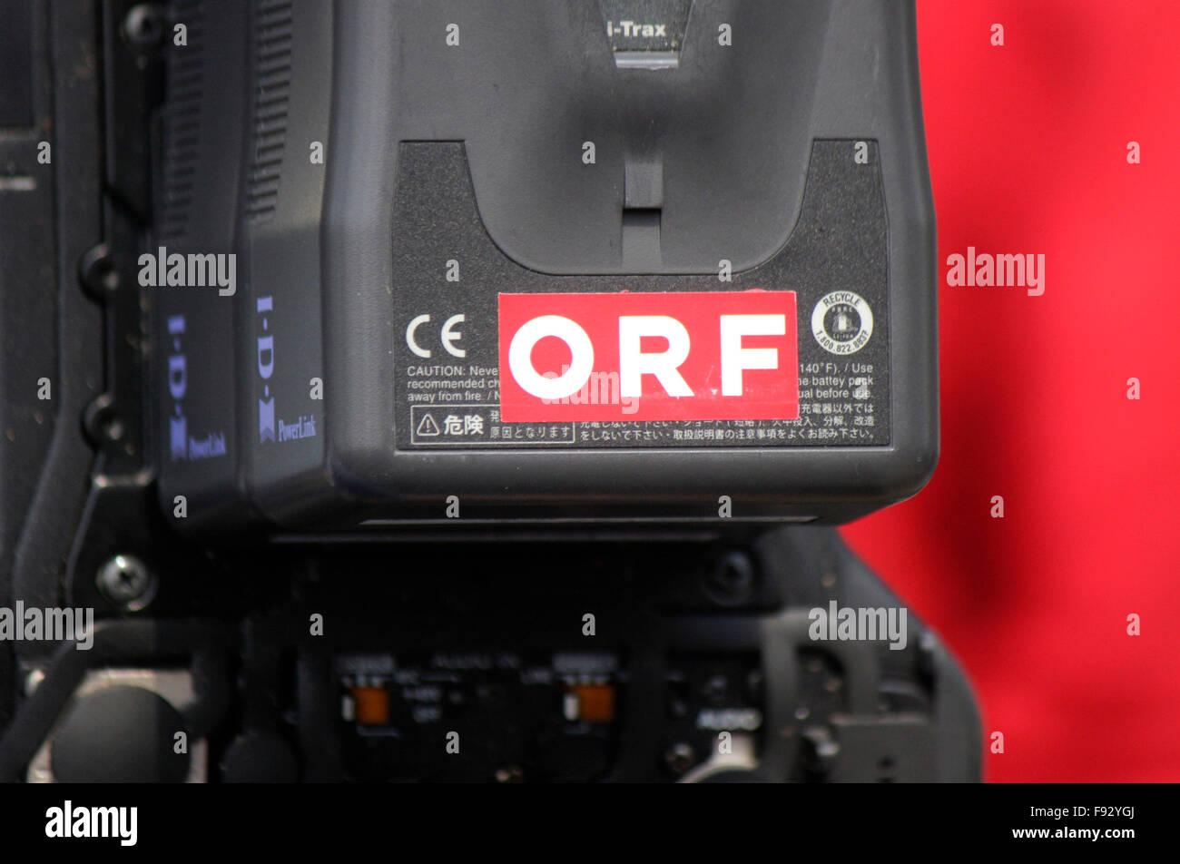 "Markenname: ""ORF"", Berlin. Stock Photo"
