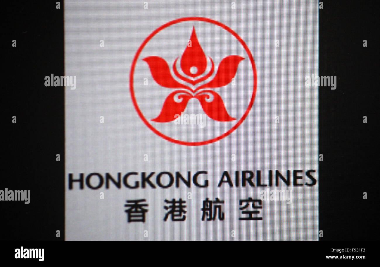 Markenname: 'Hongkong Airlines', Berlin. - Stock Image