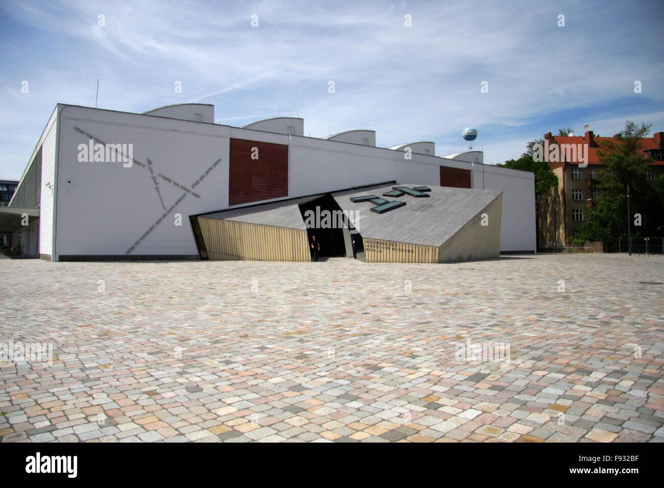 juedische Akademie, Berlin-Kreuzberg. - Stock Image