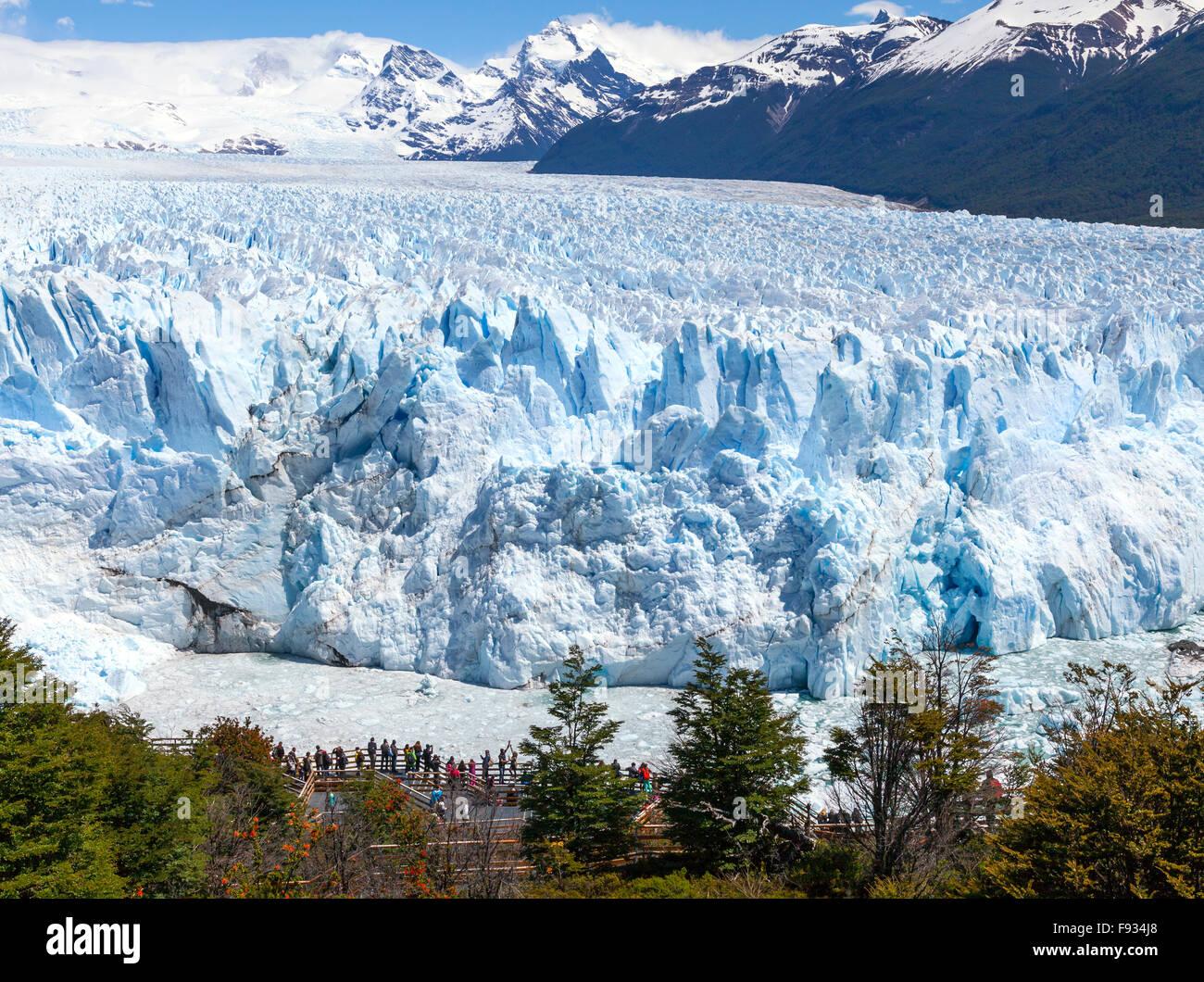 Perito Moreno Glacier. 3, Argentina - Stock Image