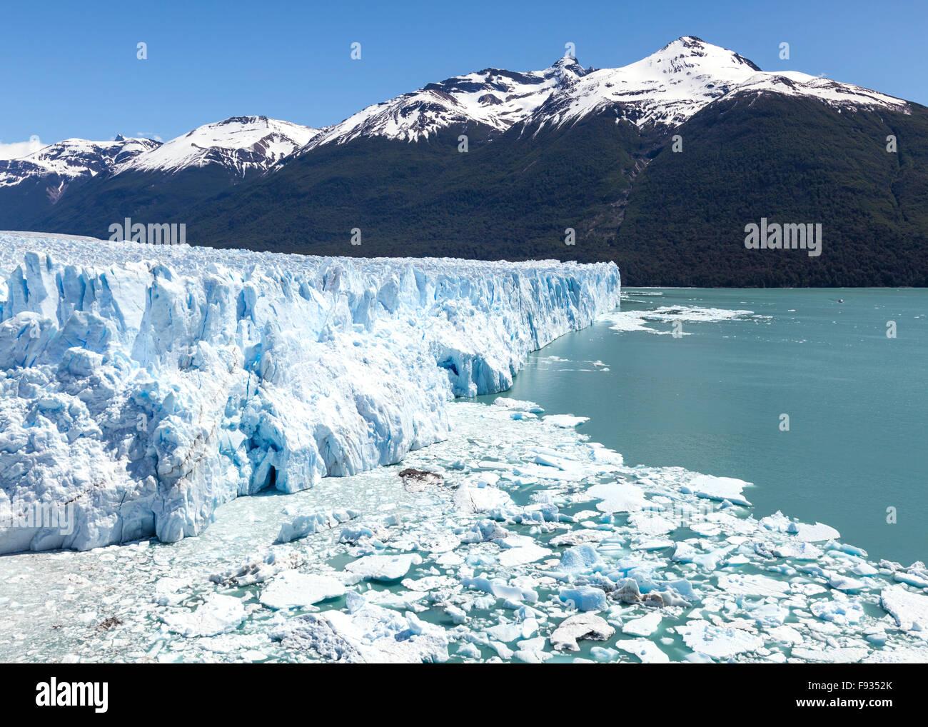 Perito Moreno Glacier, 5, Argentina - Stock Image