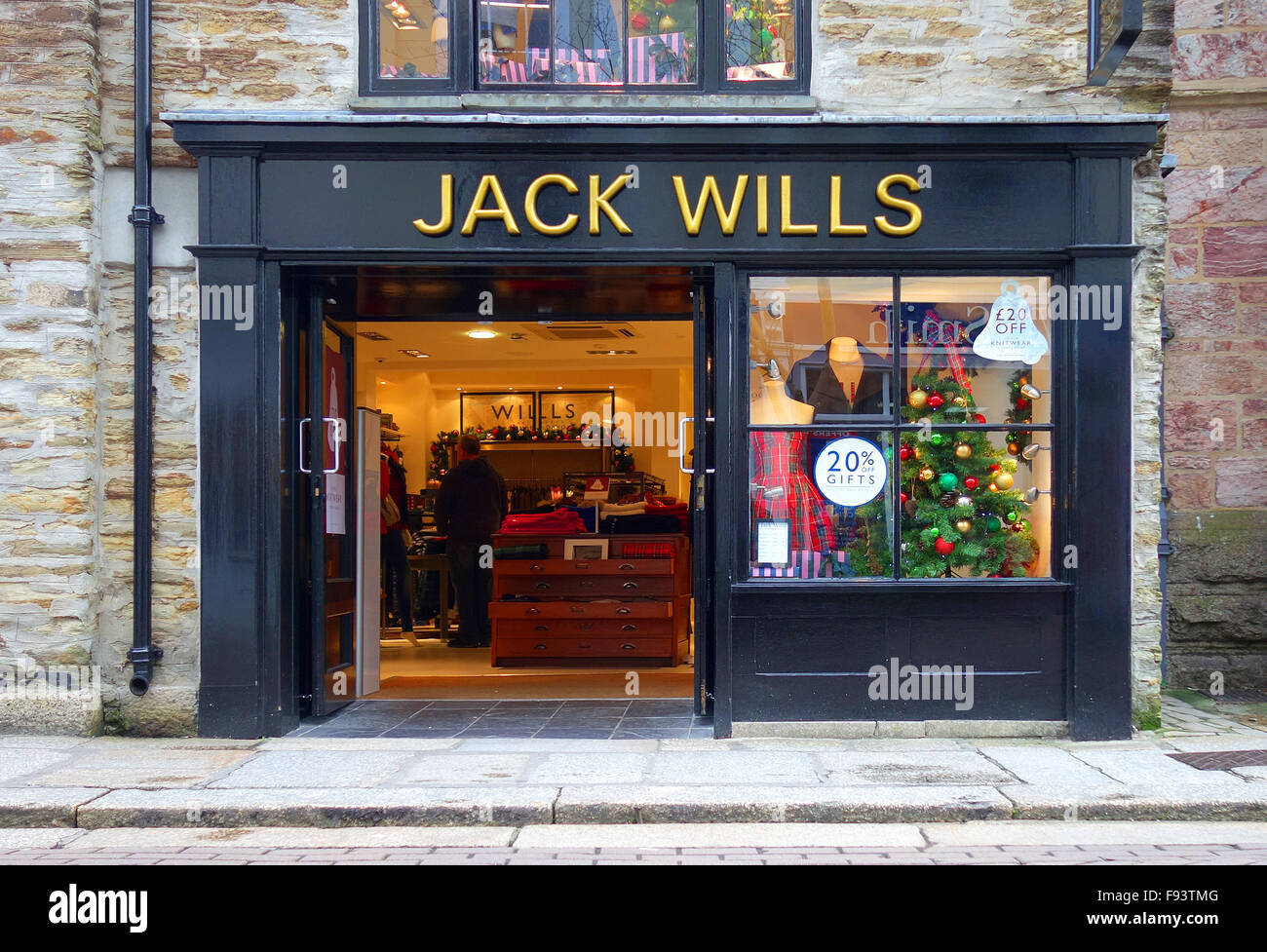 Jack Wills store - Stock Image