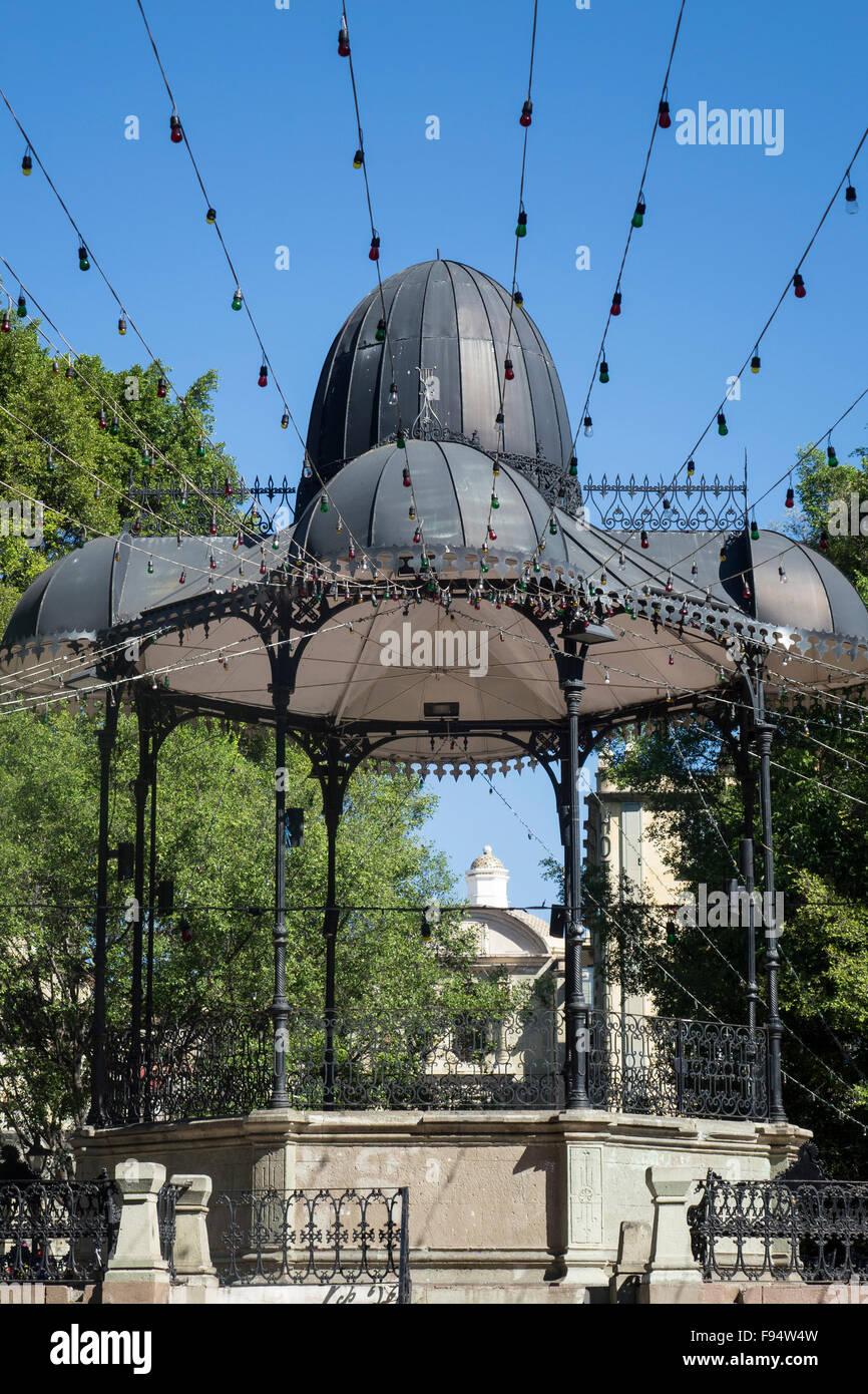 Mexico, Oaxaca, Zocalo bandstand - Stock Image