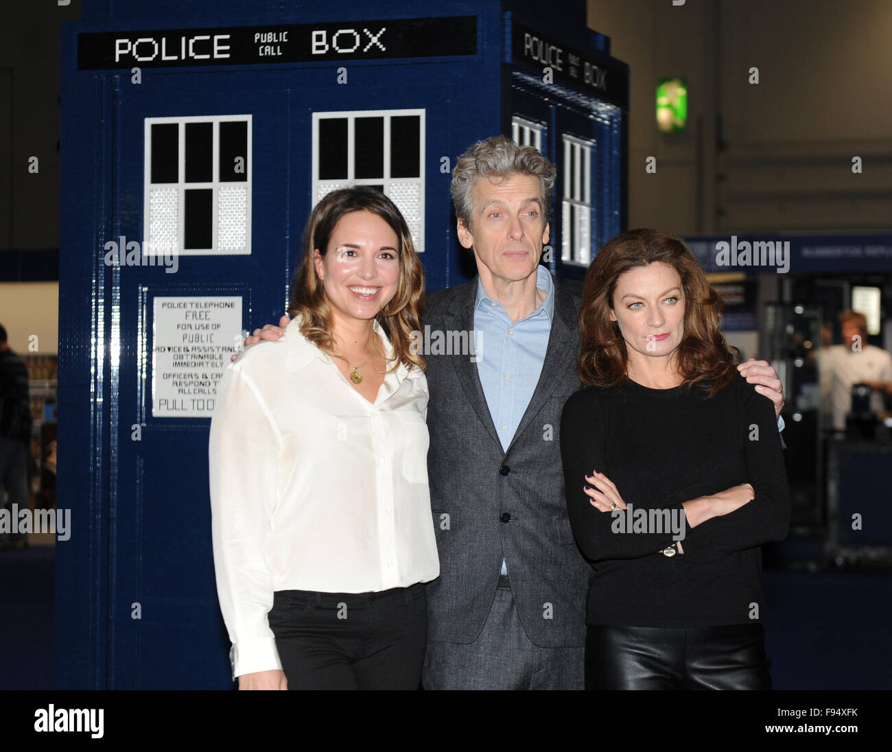 doctor who festival at excel london featuring ingrid oliver stock