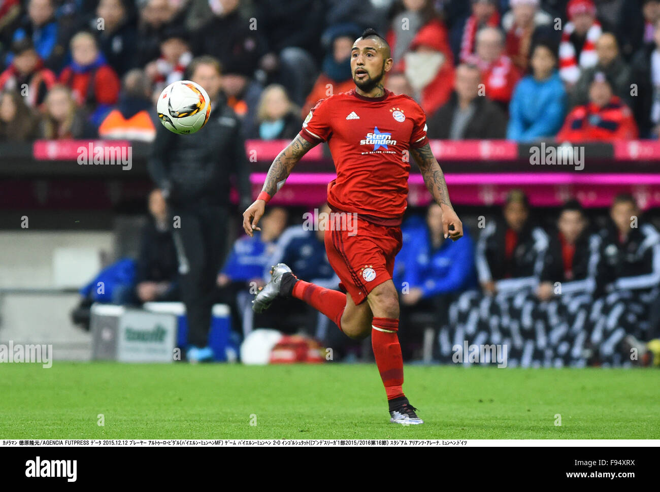 Arturo Vidal Bayern Stock Photos Arturo Vidal Bayern Stock Images