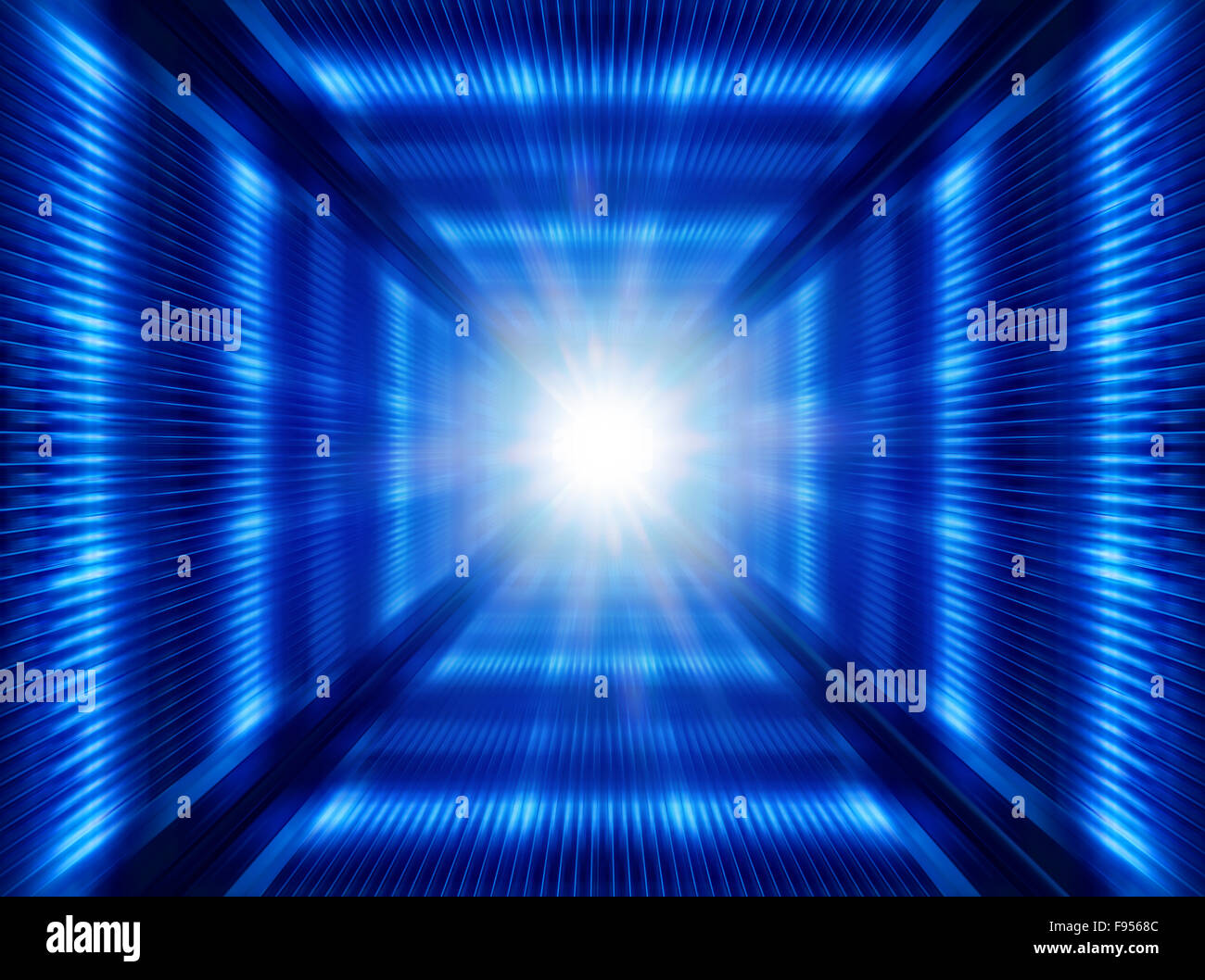 greased bright multi-colored abstract background, futuristic illustration - Stock Image