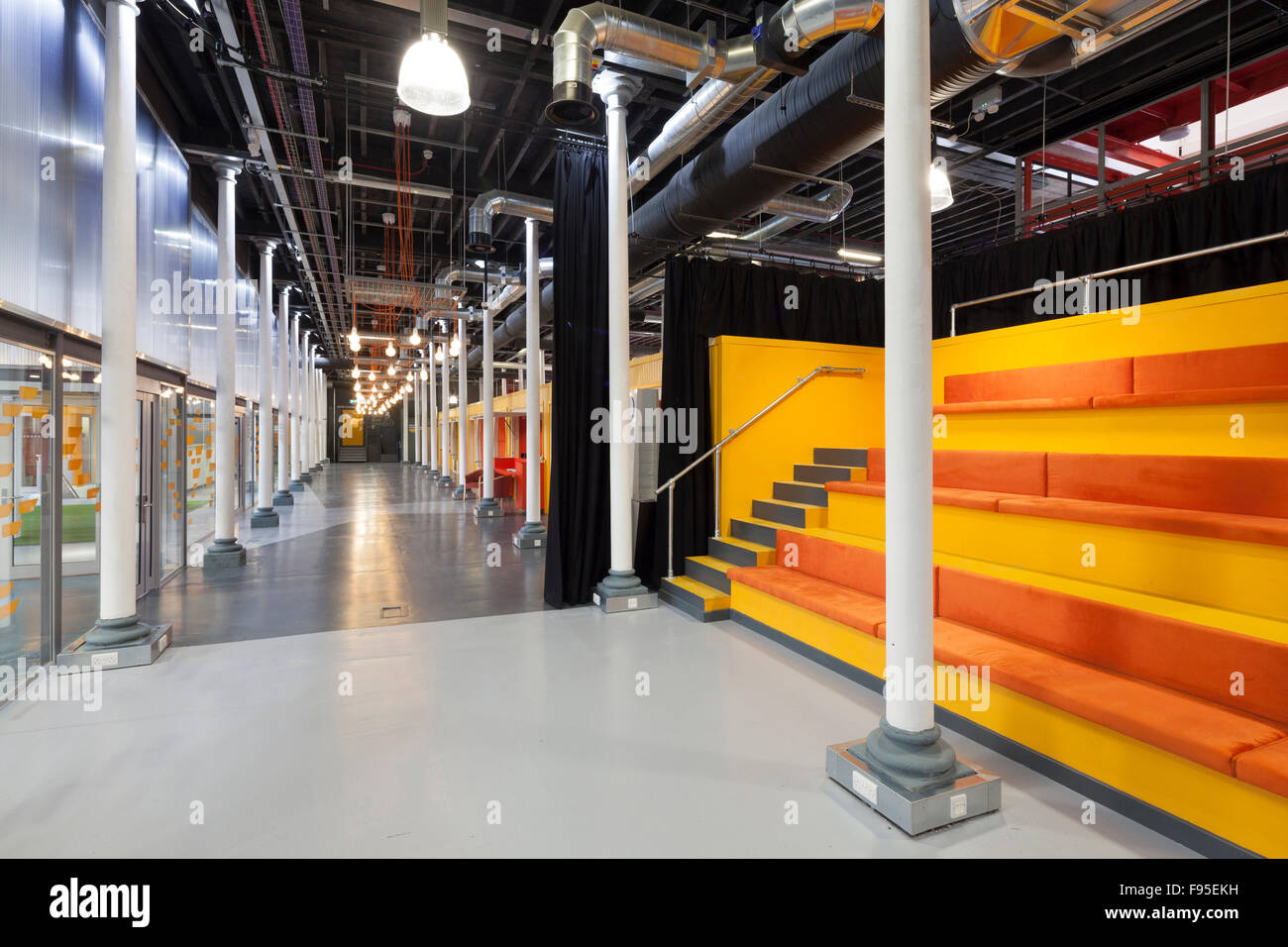 Engine Shed is a collaboration between Bristol City Council, the University of Bristol and the West of England Local - Stock Image