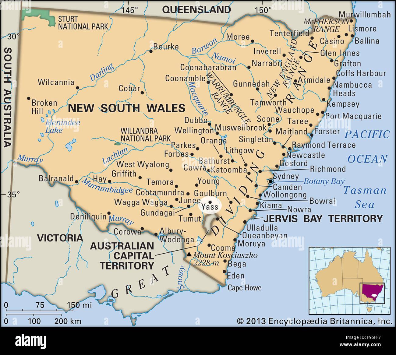 yass australia map