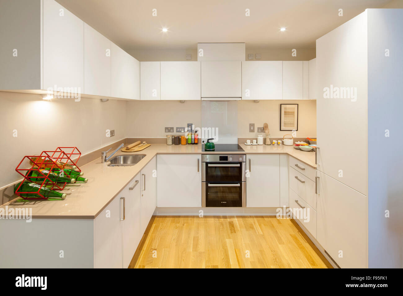 The Ocean Estate project is a new build development of 462 mixed tenure housing, made up of social units for rent, - Stock Image