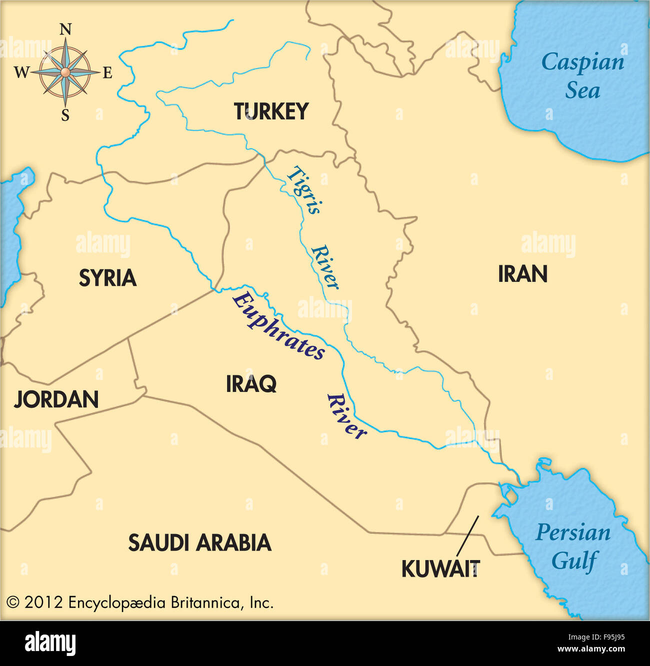 The Euphrates River Stock Photo: 91707873 - Alamy