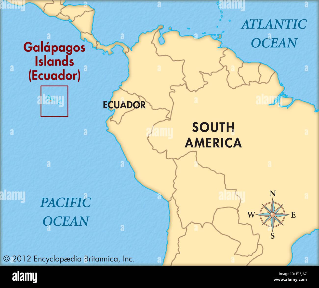 The Galapagos Islands Stock Photo Alamy