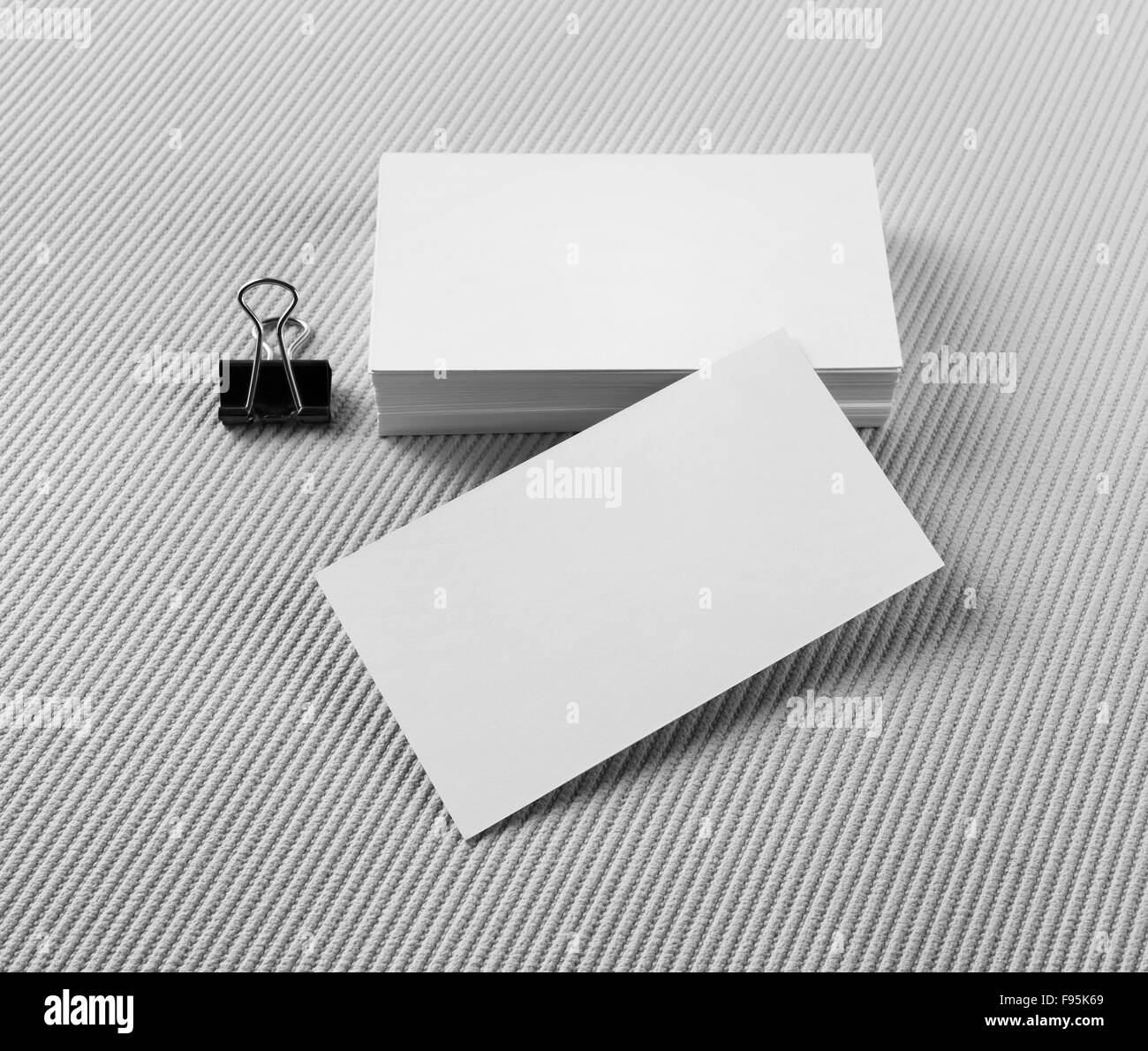 Blank business cards on gray background mock up for branding stock blank business cards on gray background mock up for branding identity reheart Gallery