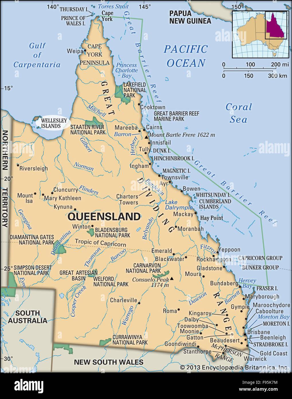 Wellesley Islands, Queensland, Australia - Stock Image