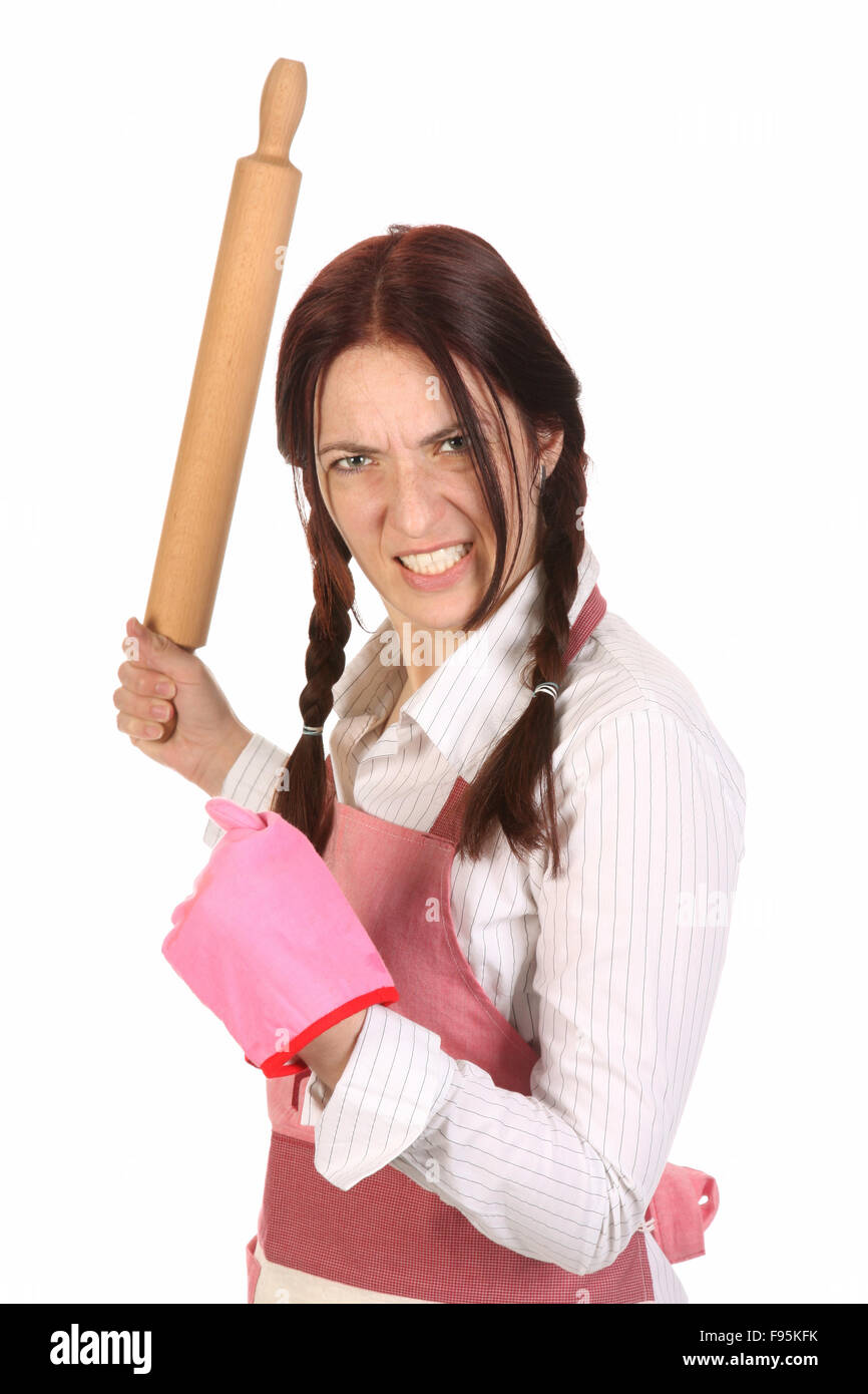 Image result for Mad wife with rolling pin