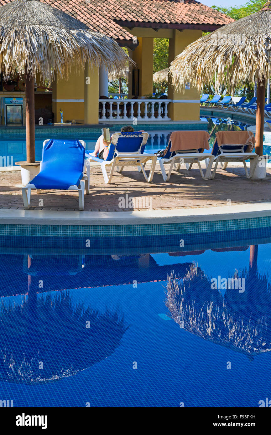 Allegro Papagayo allinclusive resort near Liberia, Costa Rico - Stock Image