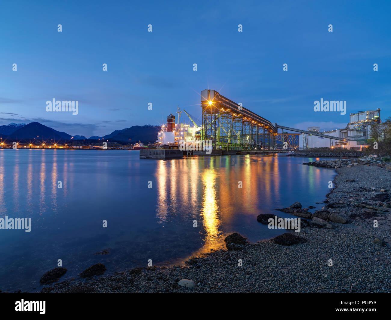 Loading docks. - Stock Image