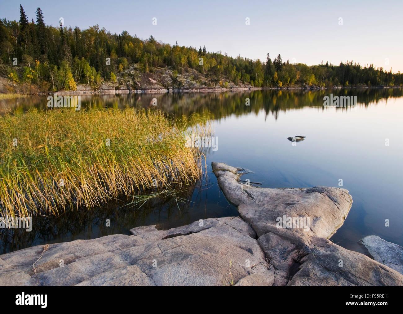 Devil Lake, Northern Saskatchewan, Canada - Stock Image