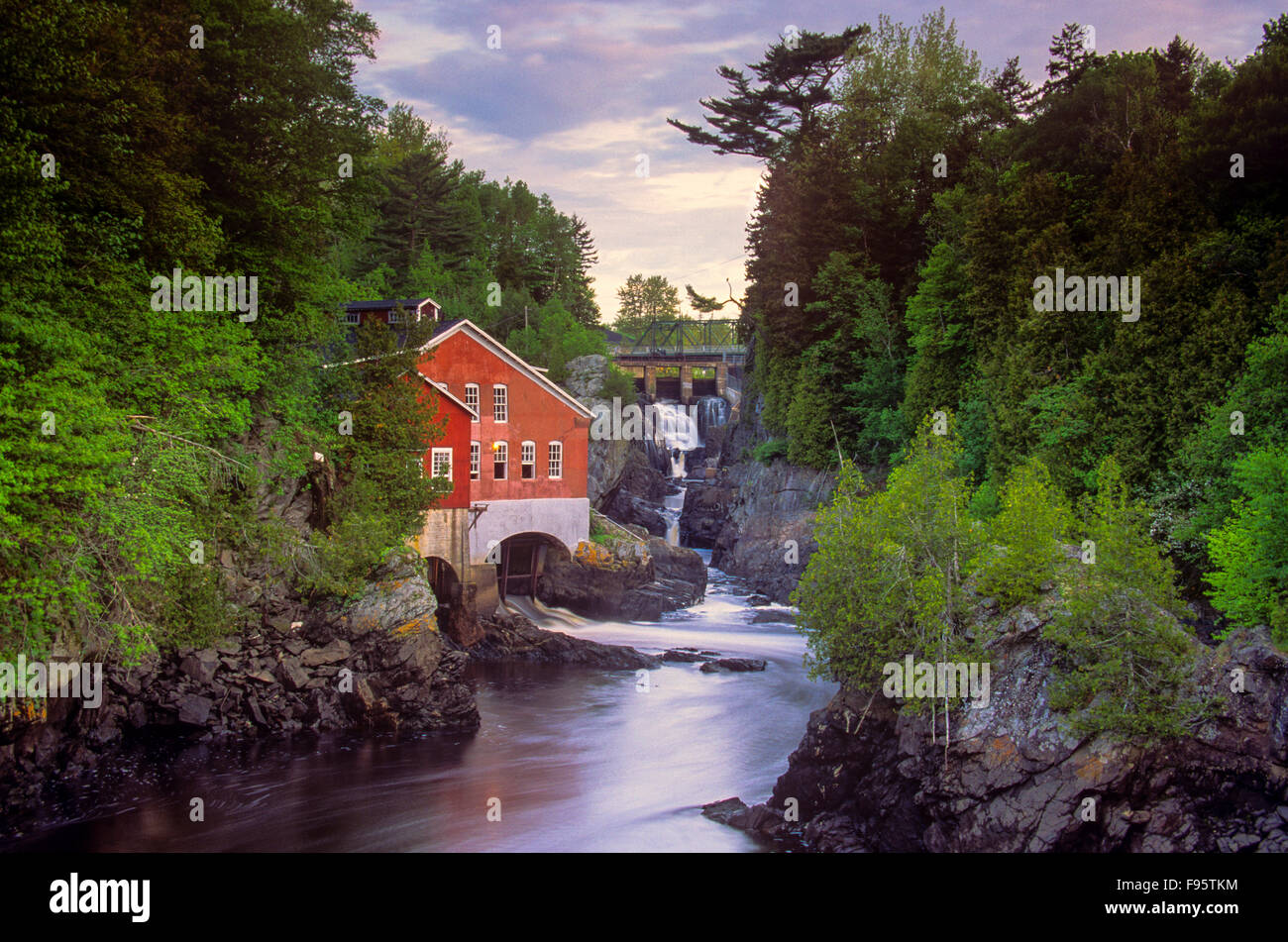 St. George, New Brunswick, Canada - Stock Image