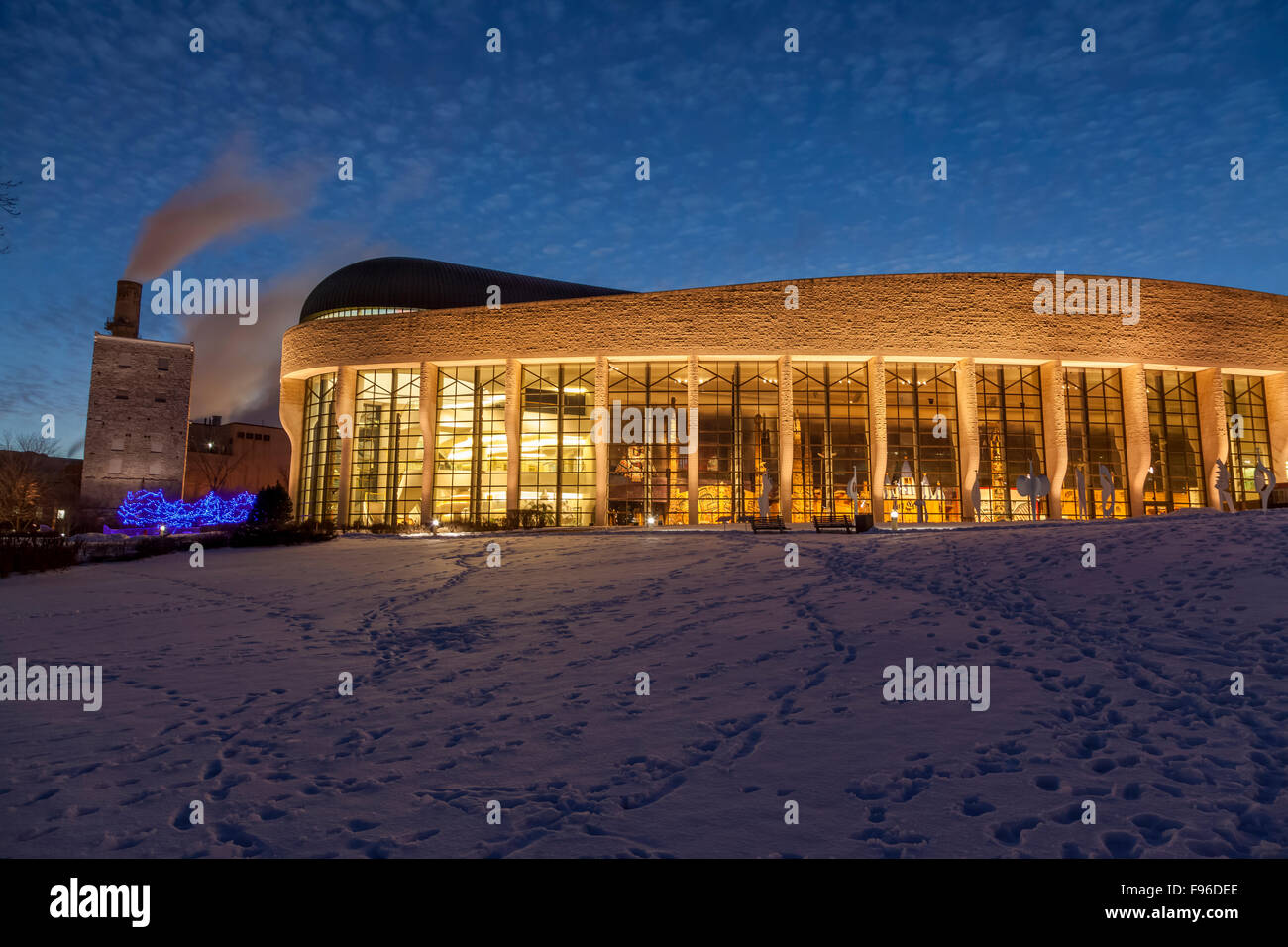 Foyer Museum Quebec : Grand hall stock photos images alamy
