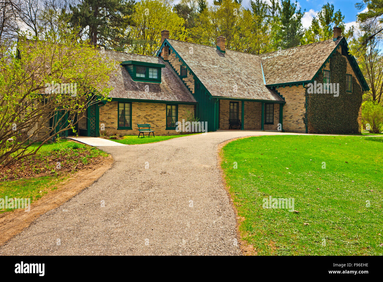 Woodside National Historic Site, the childhood home of Canada's longest serving prime minister William Lyon - Stock Image