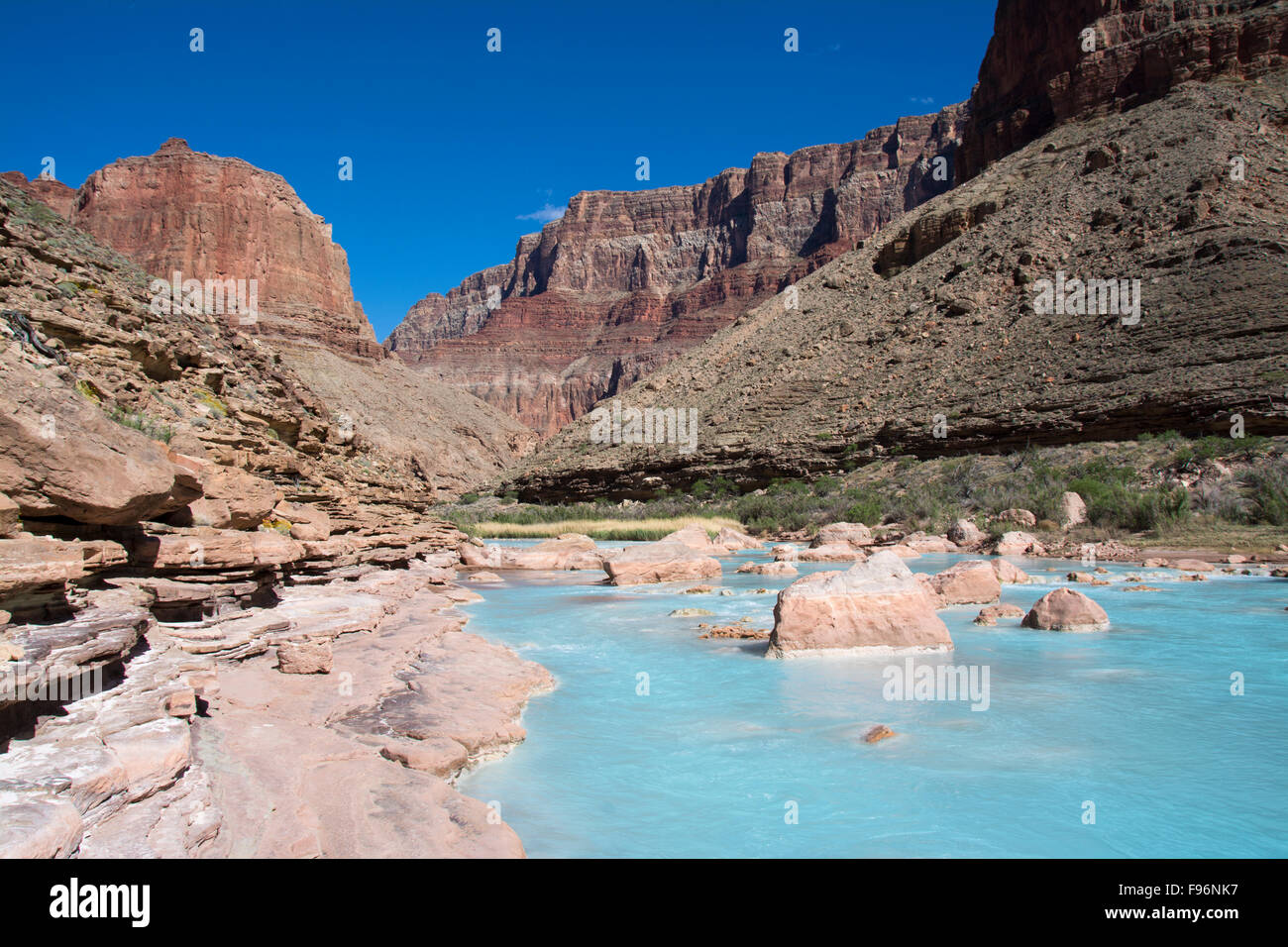 Calcium Silicate United States : Little colorado river stock photos