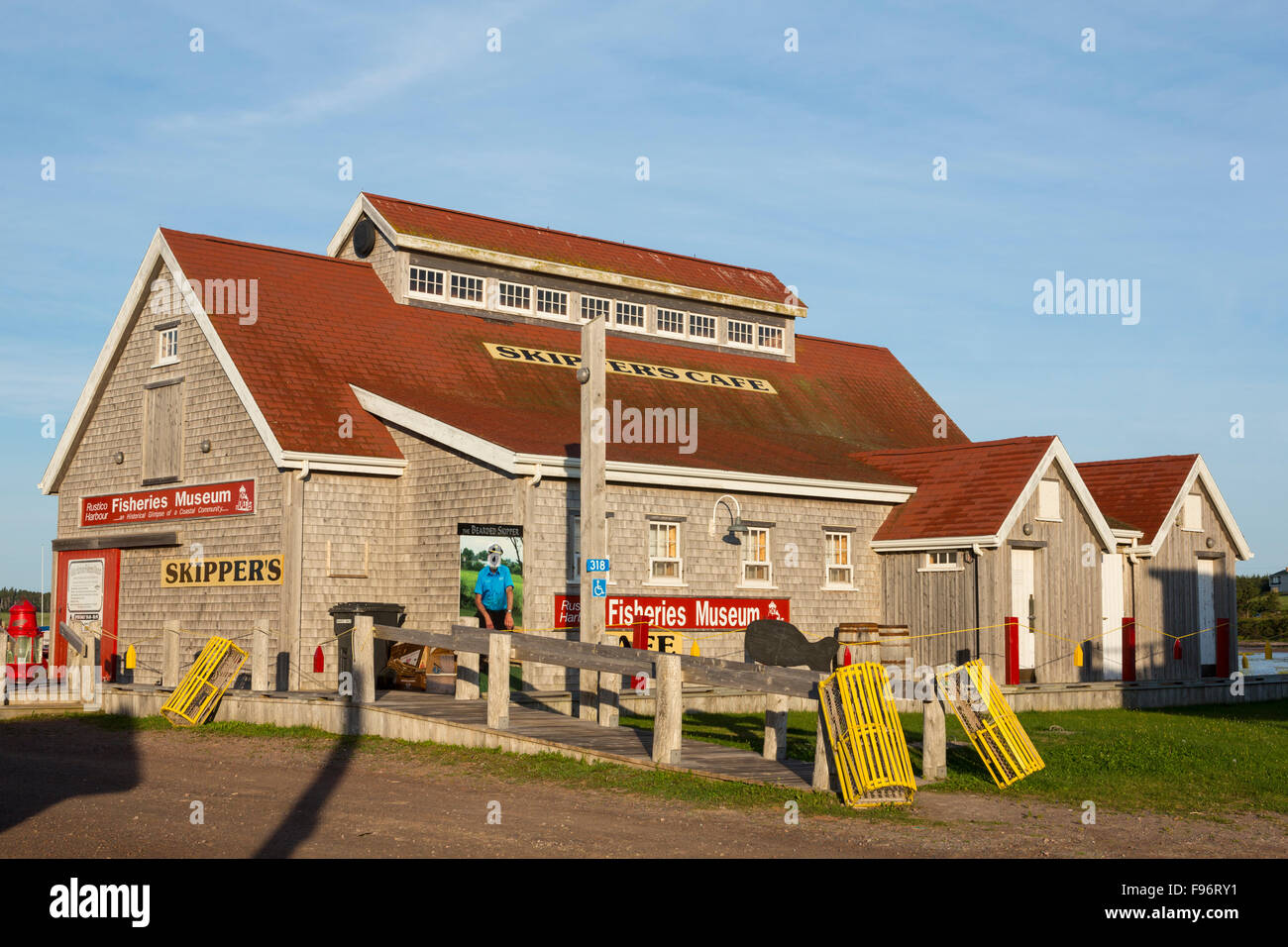 Fisheries Museum, North Rustico, Prince Edward Island, Canada - Stock Image