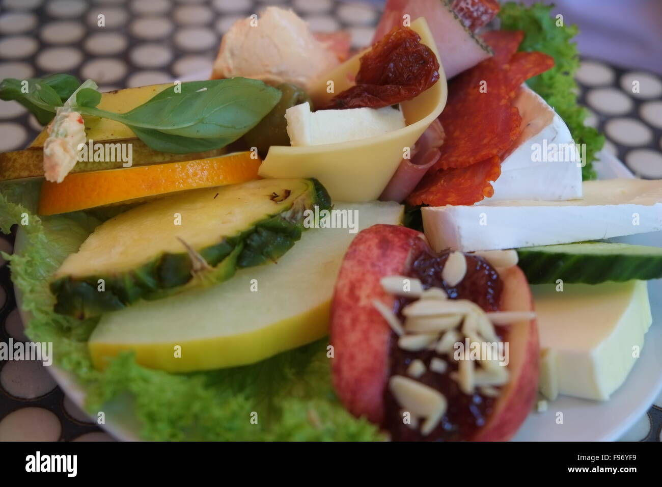 Healthy Living And Nutrition Choices - Stock Image