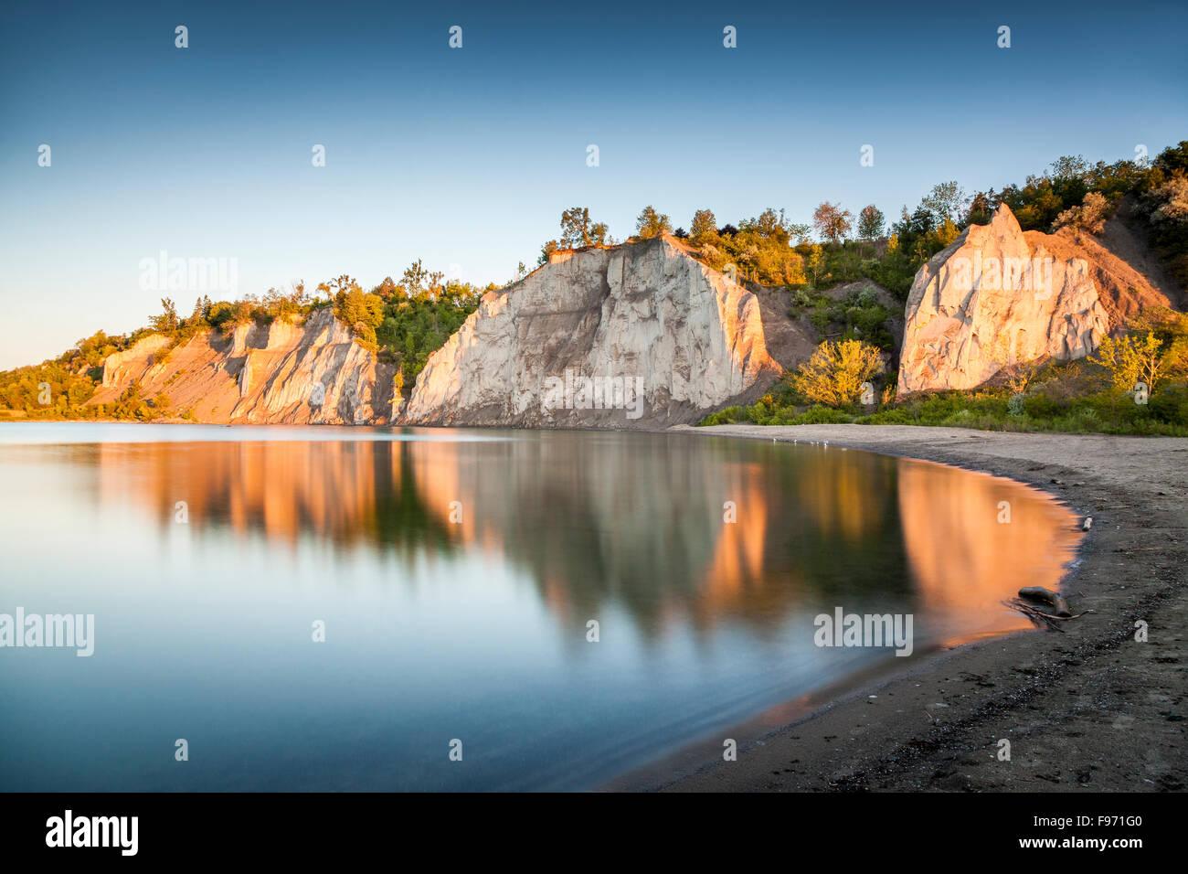Scarborough Bluffs, Toronto, Ontario - Stock Image