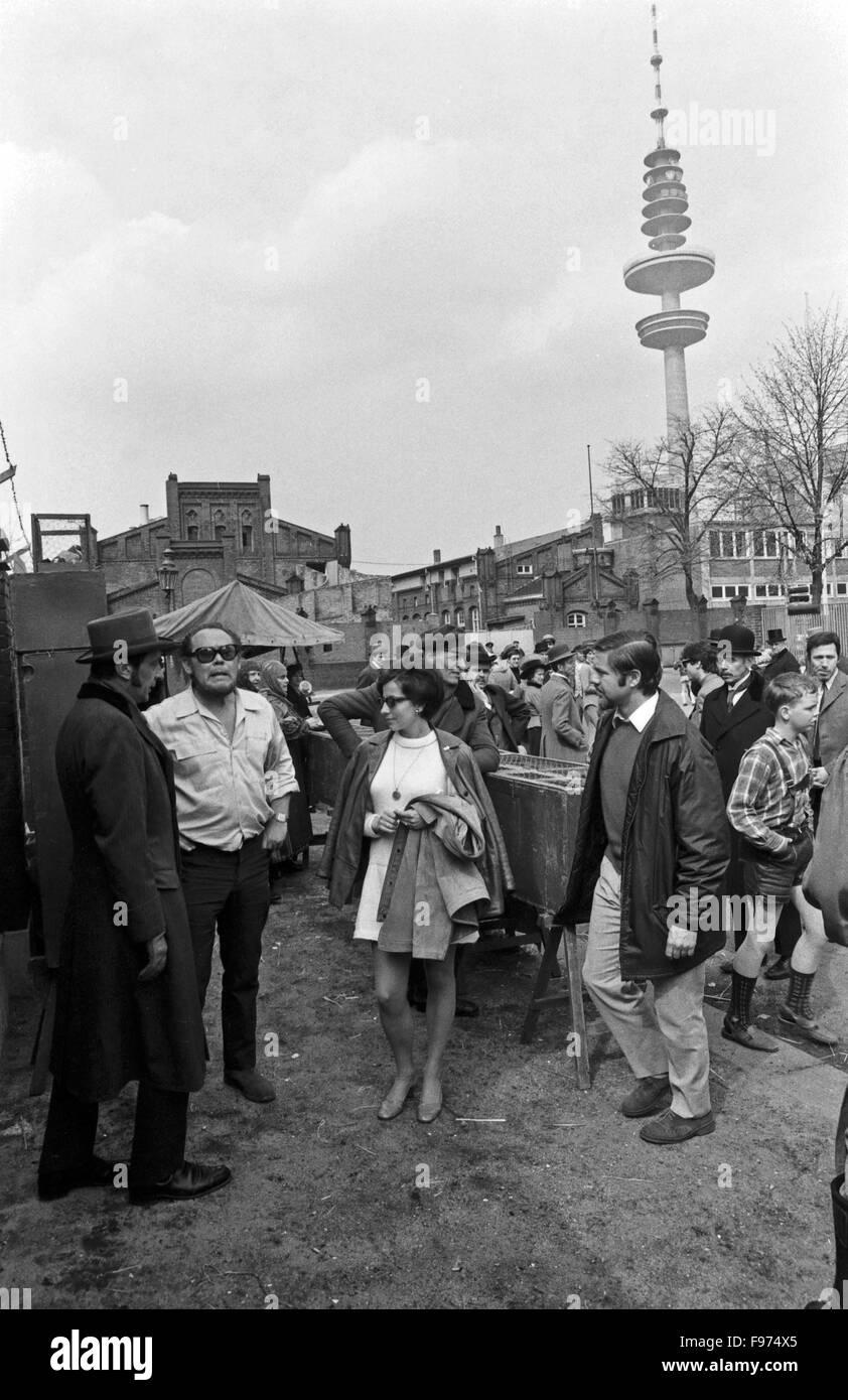 Der ewige Gatte, Fernsehfilm, Deutschland 1969, Regie: Stanislav Barabas, Szenenfoto - Stock Image