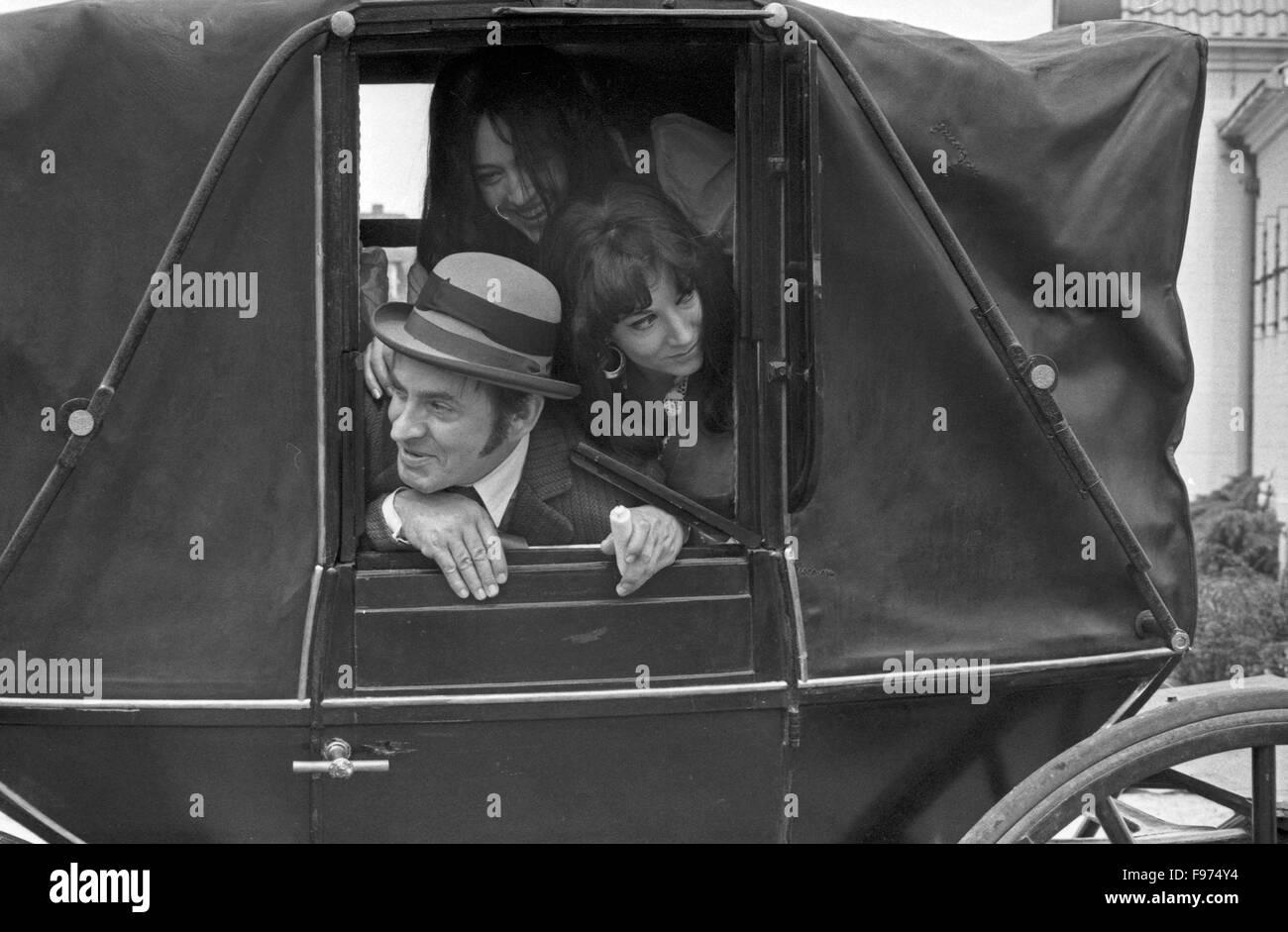 Der ewige Gatte, Fernsehfilm, Deutschland 1969, Regie: Stanislav Barabas, Darsteller: Günter Mack - Stock Image